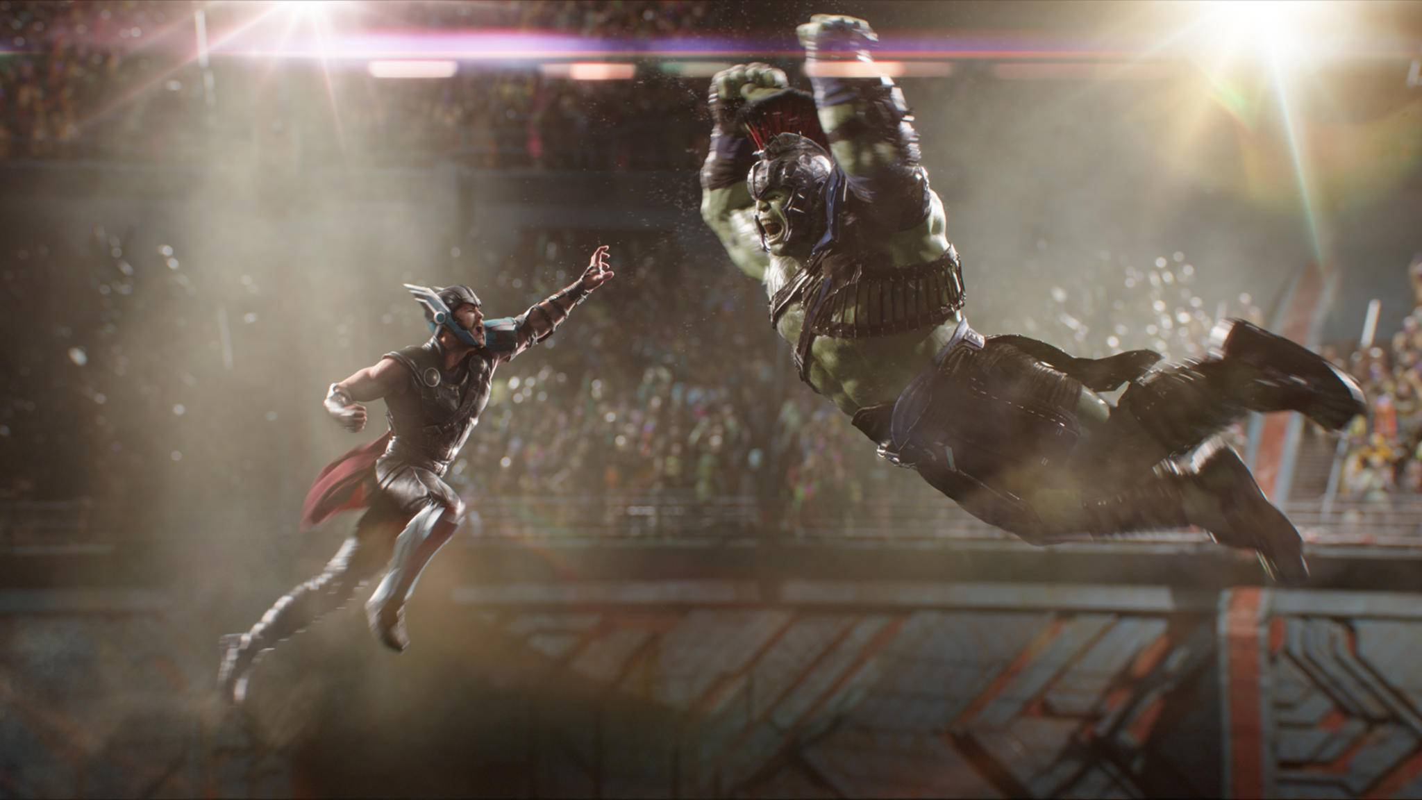 Smash! Ob Iron Man und der Hulk ähnlich spektakulär aufeinander treffen?