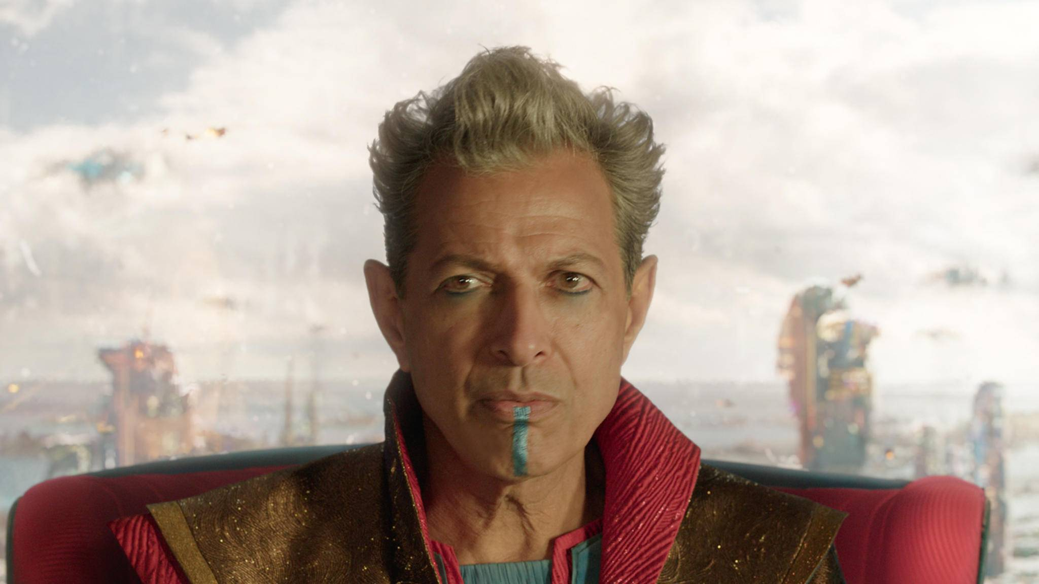 """Der Grandmaster sorgt für eine Extraportion Witz in """"Thor 3: Tag der Entscheidung""""."""