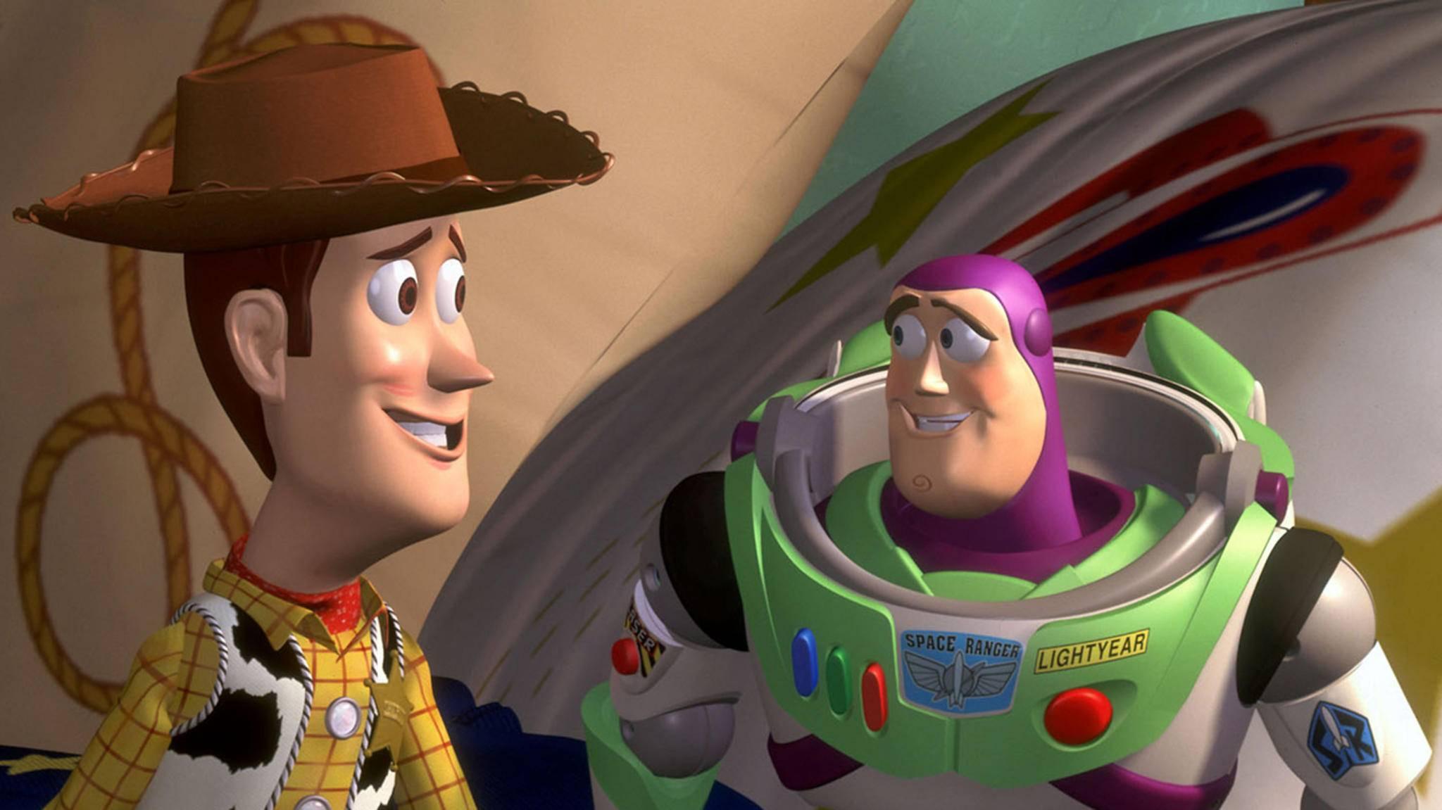 """2018 gibt es ein Wiedersehen mit Cowboy Woody und Buzz Lightyear in """"Toy Story 4""""."""