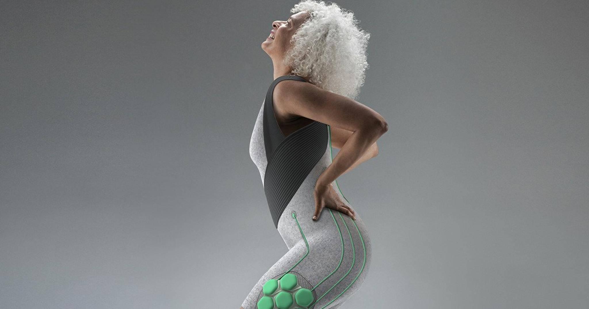 Das Exoskelett von Superflex packt seine künstlichen Muskeln in einen stylishen Bodysuit.