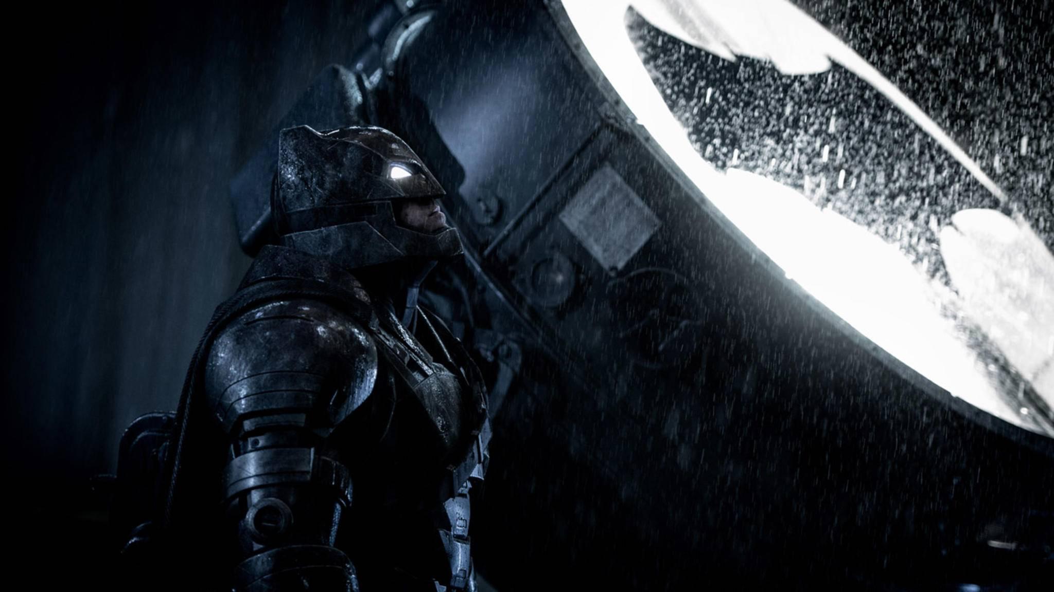 """Ja oder nein? Die Neuigkeiten zu Ben Afflecks """"The Batman"""" sind widersprüchlich."""