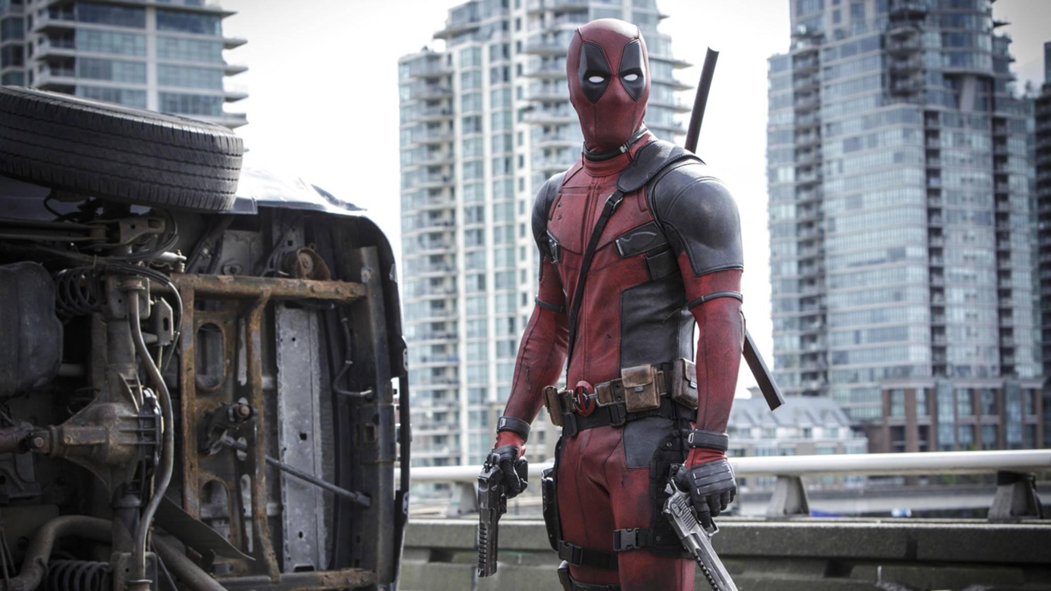 """Beliebt bei Kinogängern und Internetpiraten: """"Deadpool"""""""