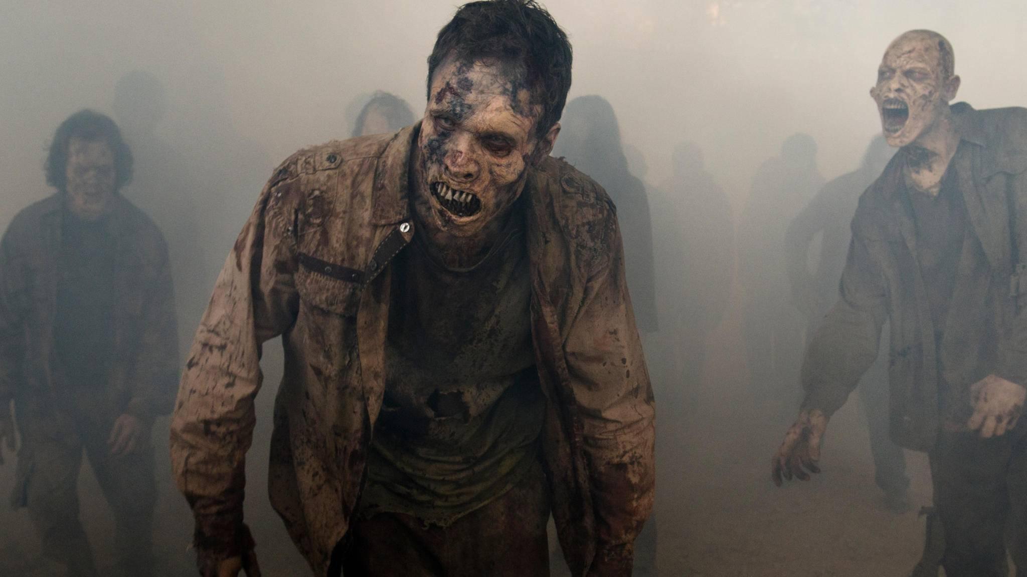 """Die Serie """"The Walking Dead"""" sorgte für einen regelrechten Zombie-Boom."""