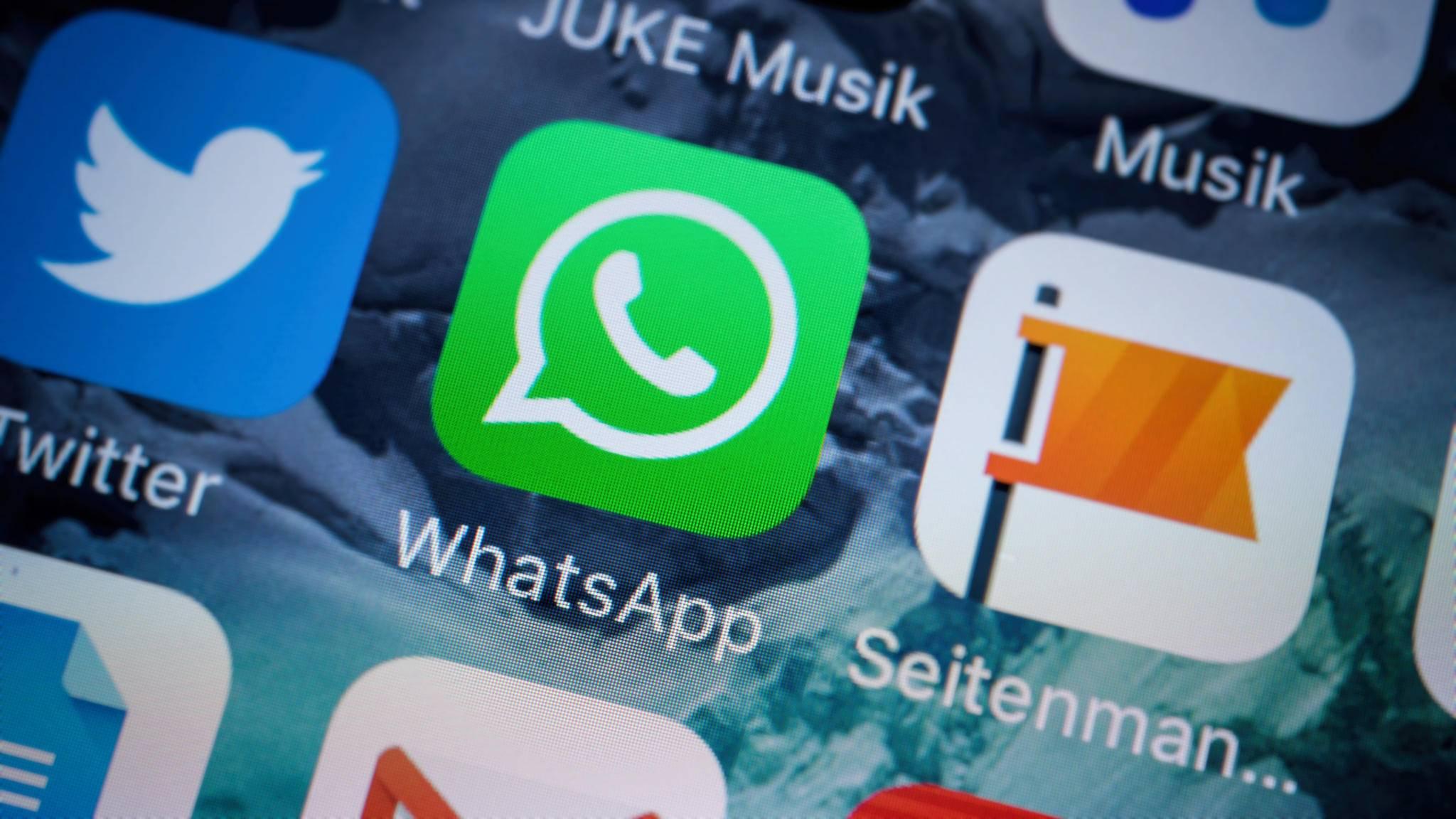Seit Kurzem kannst Du Bilder direkt in WhatsApp mit verschiedenen Filtern versehen.