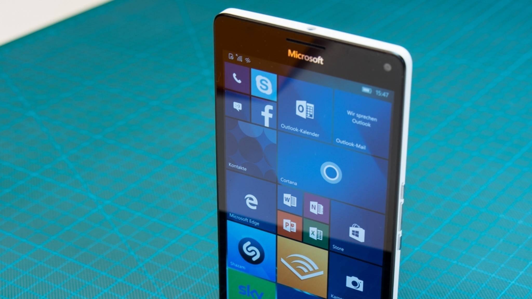 Windows10 Mobile bekommt Updates direkt von Microsoft.