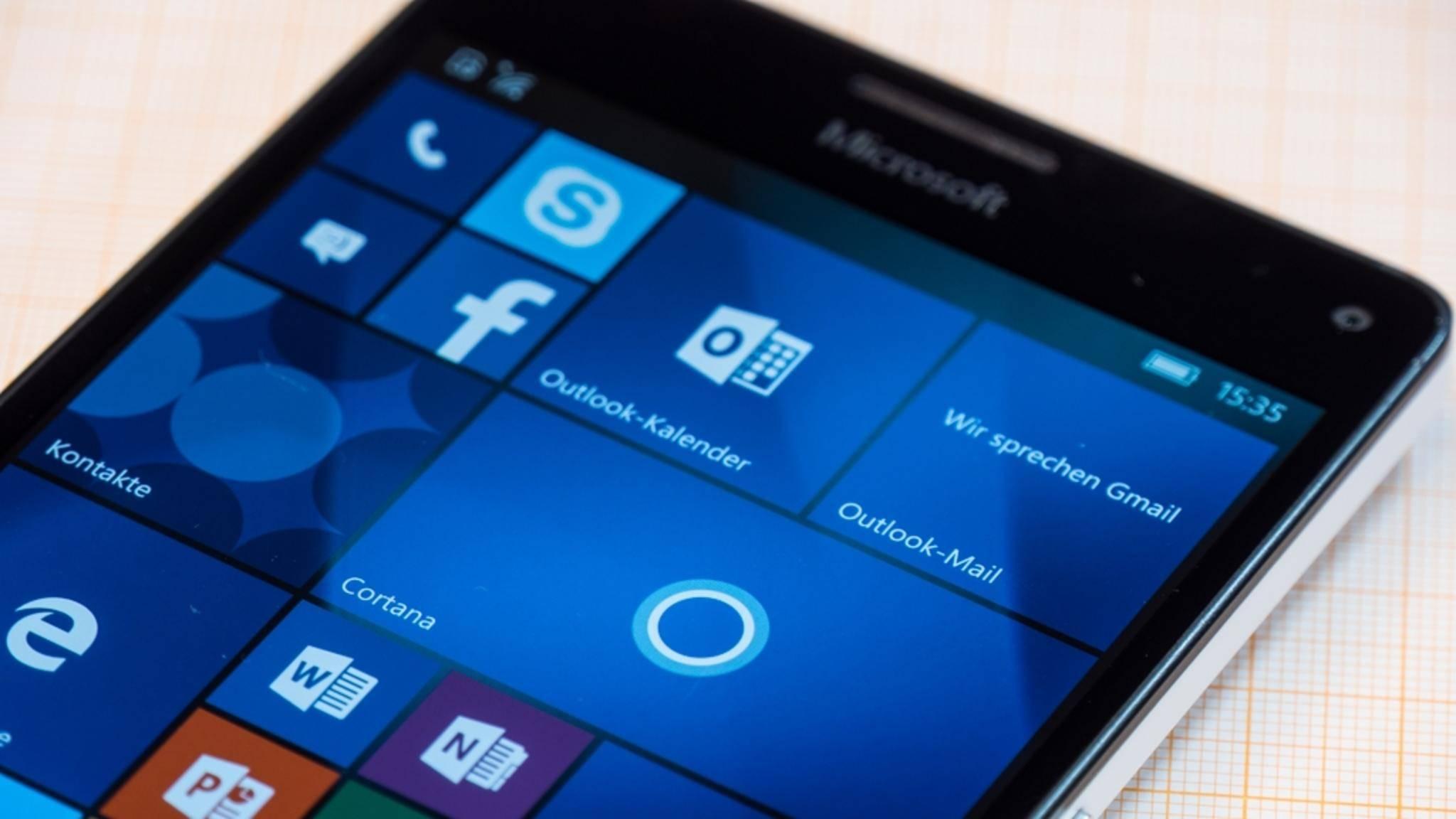 Auf Lumia-Smartphones wird es kein vollwertiges Windows 10 geben.