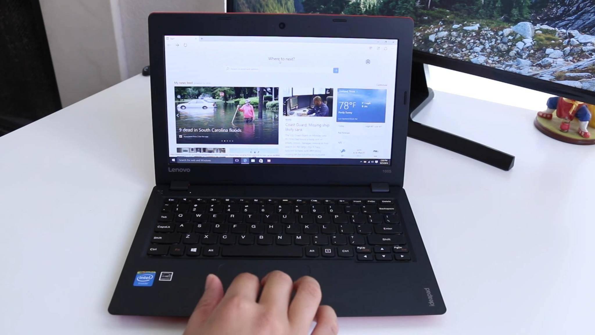 Netbooks wie das IdeaPad 100S werden noch mit einem 32 Bit-Windows ausgeliefert.