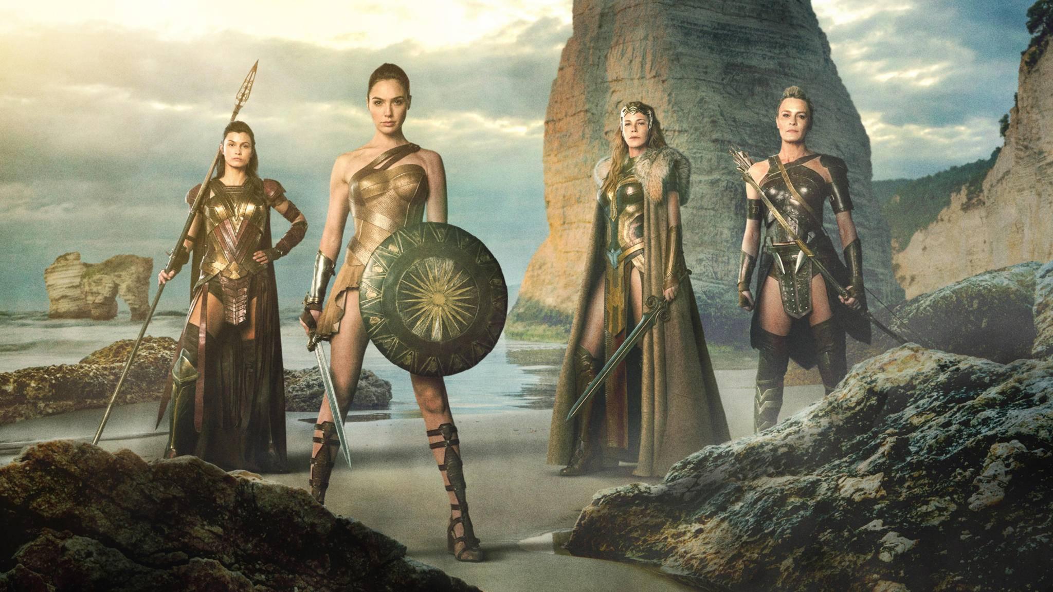 """Geballte Frauenpower vor und hinter der Kamera in """"Wonder Woman""""."""
