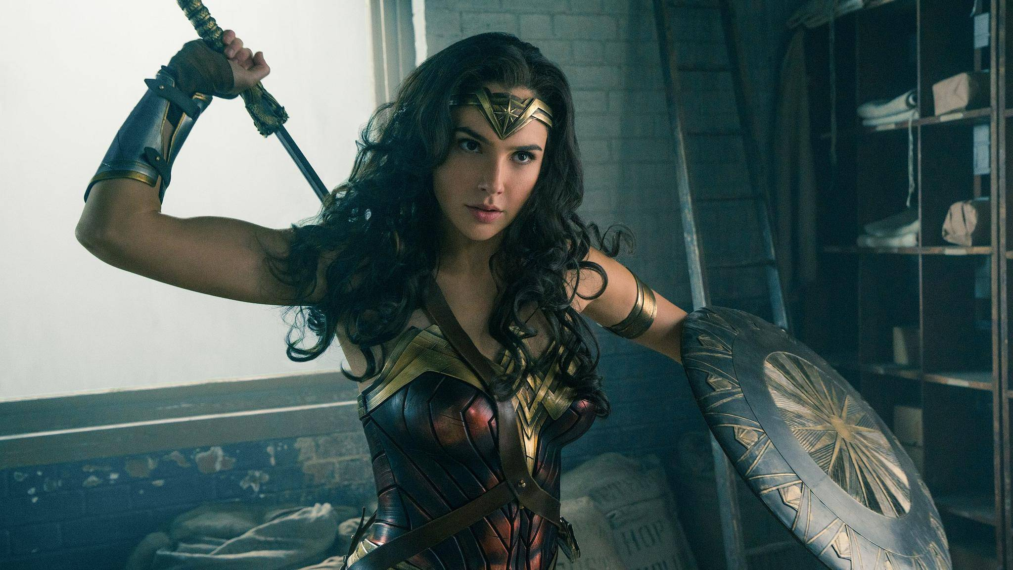Let's fight: Wonder Woman (Gal Gadot) legt in Kürze auf der großen Leinwand los.