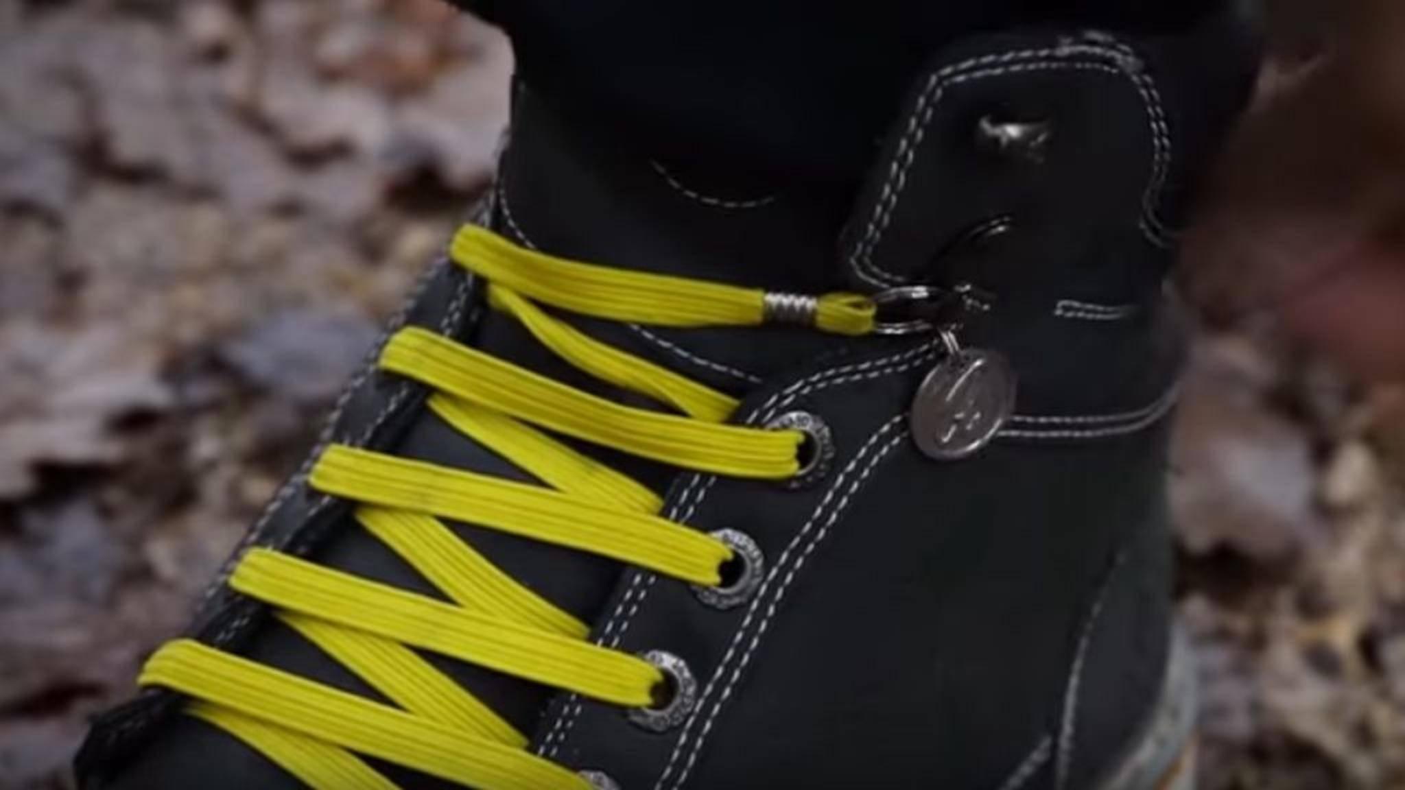 Serienproduktion ausdrücklich erwünscht: Diese Schnürsenkel sind der Hammer!