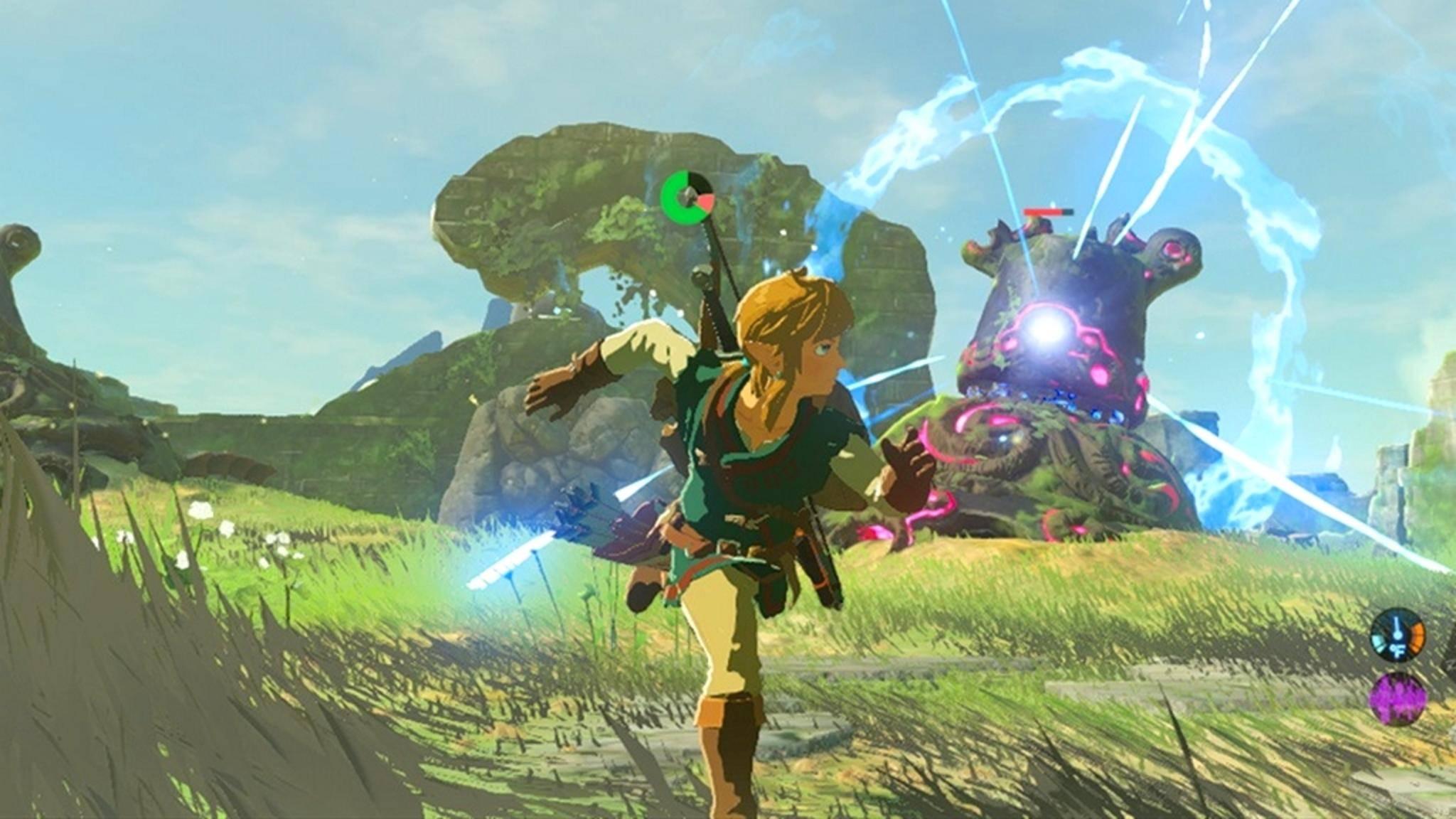 """""""The Legend of Zelda: Breath of the Wild"""": Der Titel benötigt 13 GB im knappen Speicher der Nintendo Switch."""