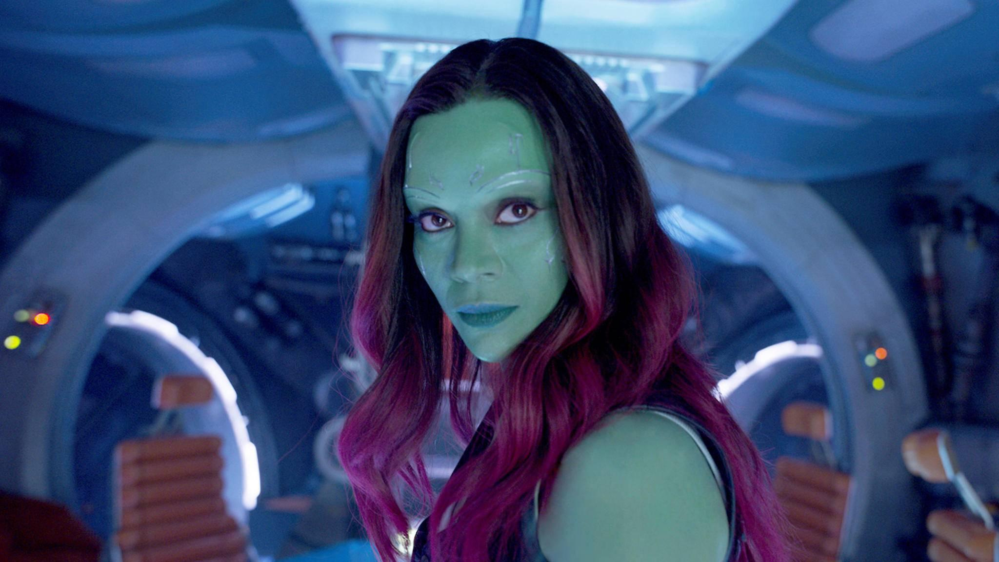 """""""Avengers: Infinty War"""": Zoe Saldana ist als Gamora definitiv dabei!"""