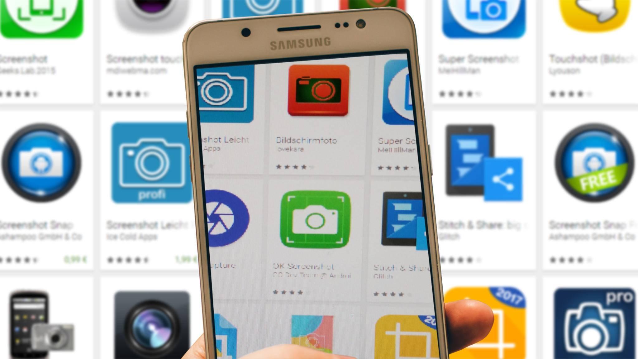 Mit Screenshot-Apps kannst Du mehr Features bei Deinen Screenshots einbauen.