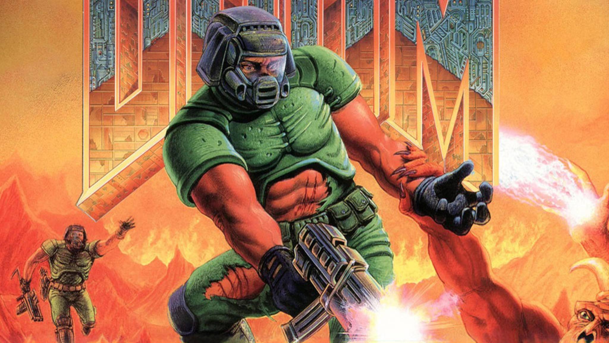 """Einmal als Unsterblicher in der Hölle für Ordnung sorgen – """"Doom"""" macht es möglich."""