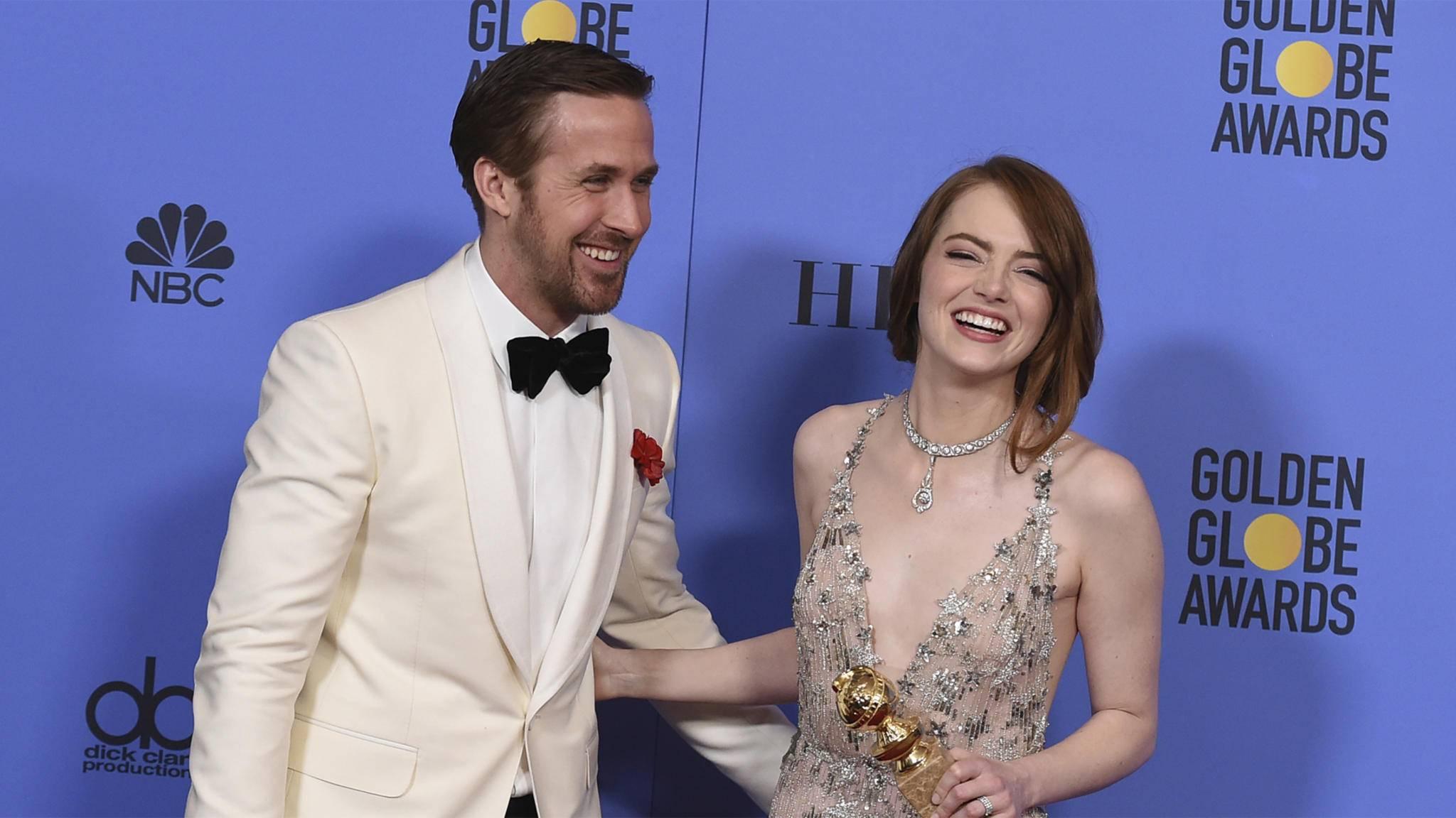"""Ryan Gosling und Emma Stone konnten sich über Preise für die Dramedy """"La La Land"""" freuen."""