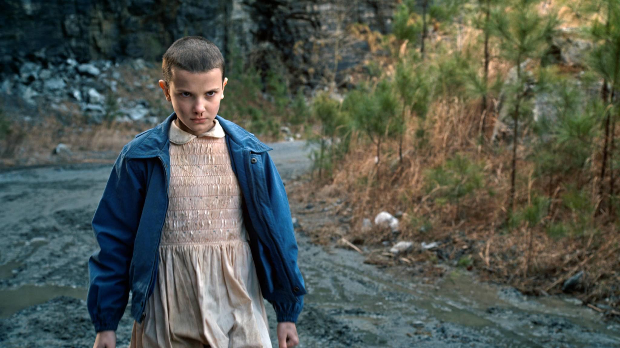 """In """"Stranger Things"""" hat Eleven (Millie Bobby Brown) durchaus ihre gruseligen Momente. Davon hätte es wohl noch deutlich mehr geben sollen..."""