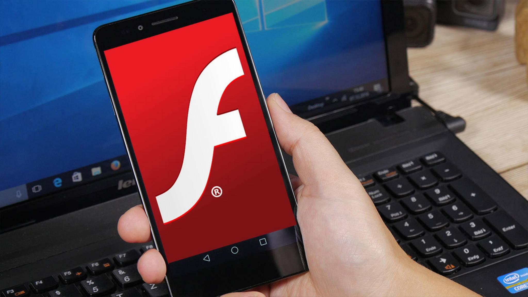 Auf dem iPhone geht Flash gar nicht, auf Android mit Abstrichen.