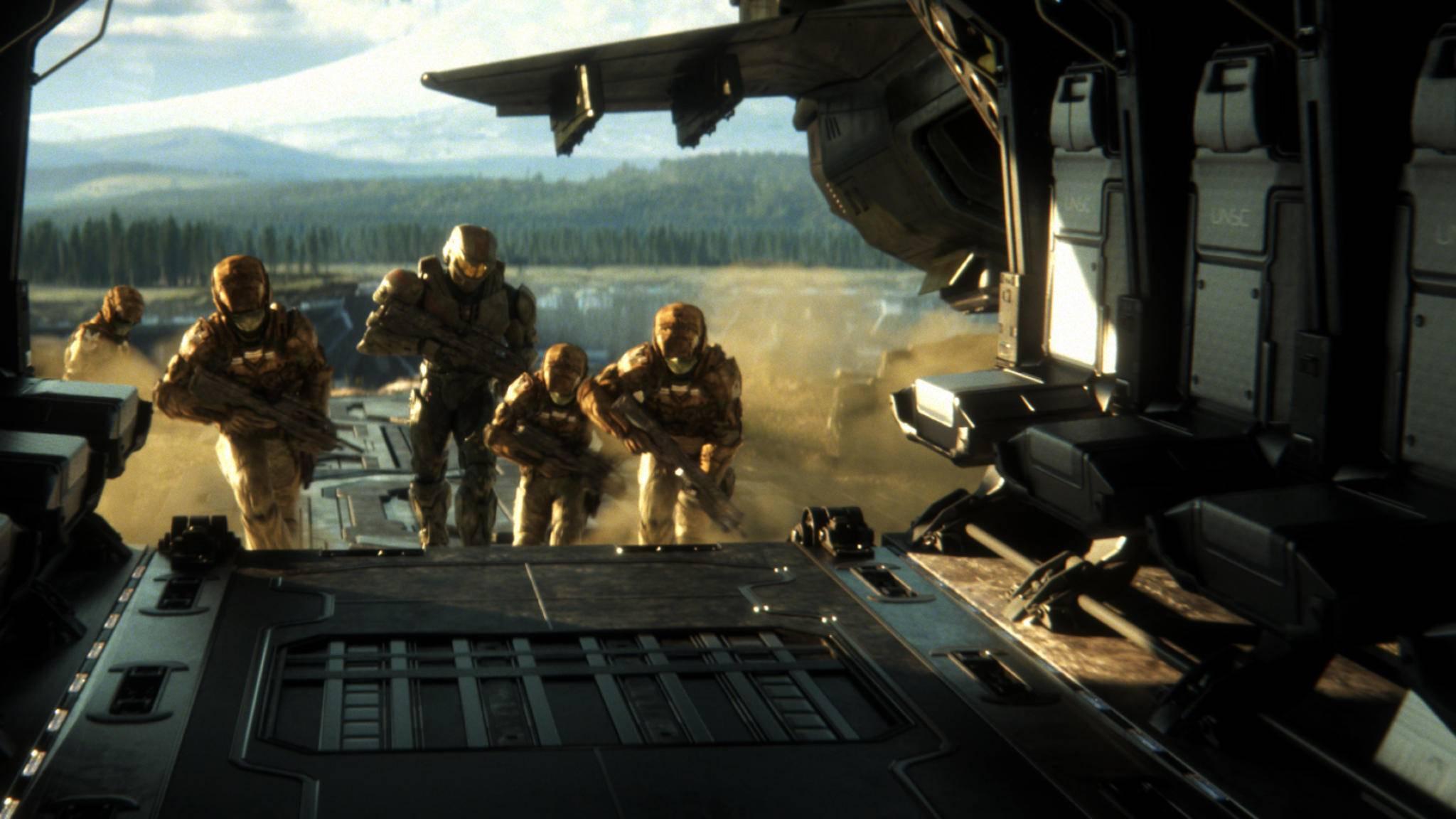 """Halo Wars 2"": Truppen gehen an Bord."