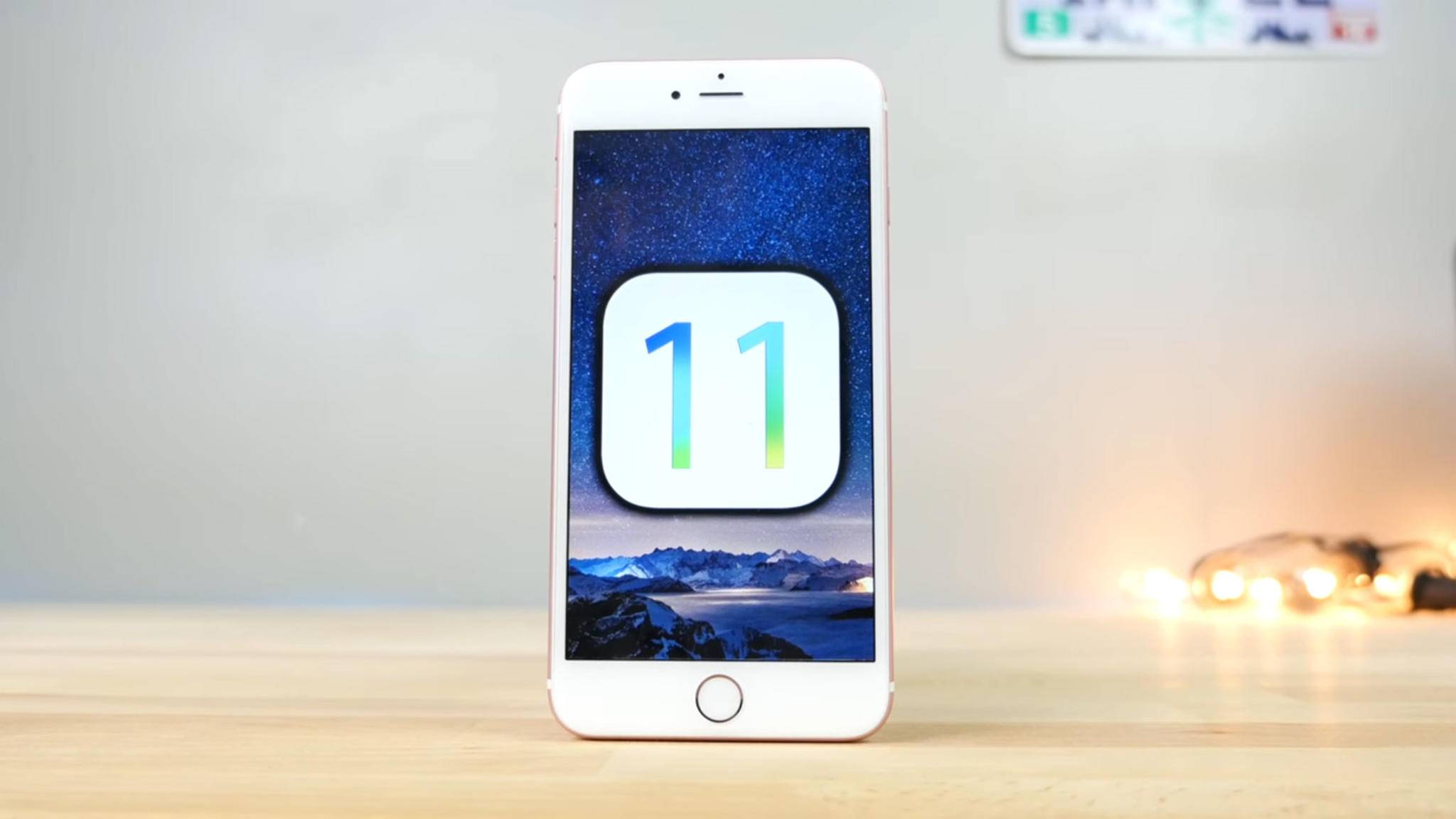 iOS 11 dürfte auf der WWDC 2017 vorgestellt werden.
