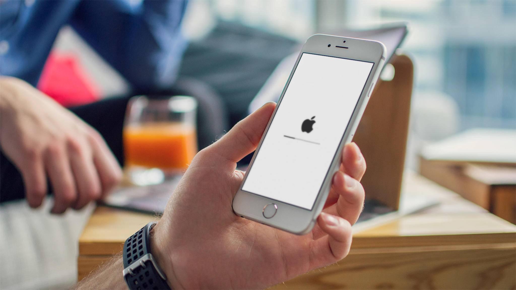 Mitunter bereitet bereits die Installation von iOS 11 Probleme.