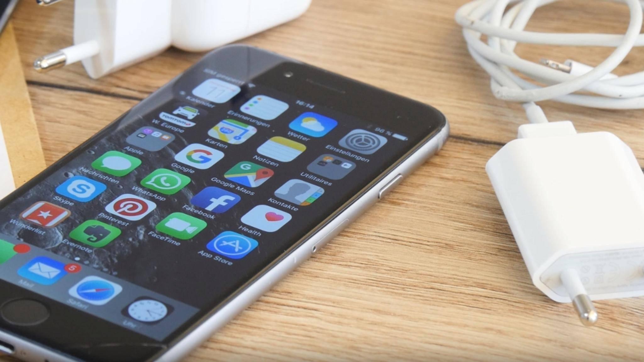 Auf dem iPhone lässt sich mit ein paar Kniffen Speicherplatz sparen.