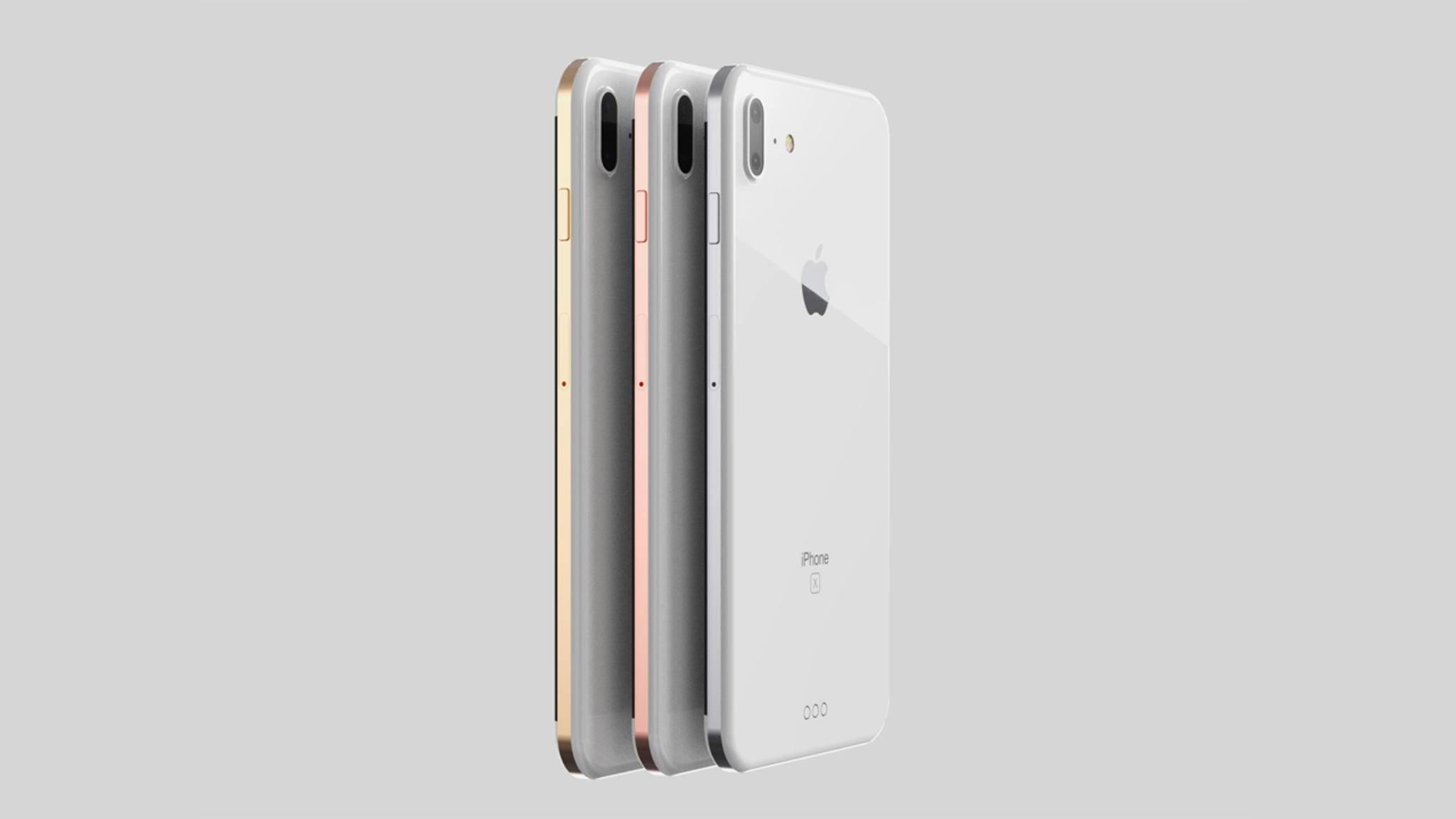 Das iPhone 8 soll einige neue Features wie Wireless Charging oder einen OLED-Screen bieten.