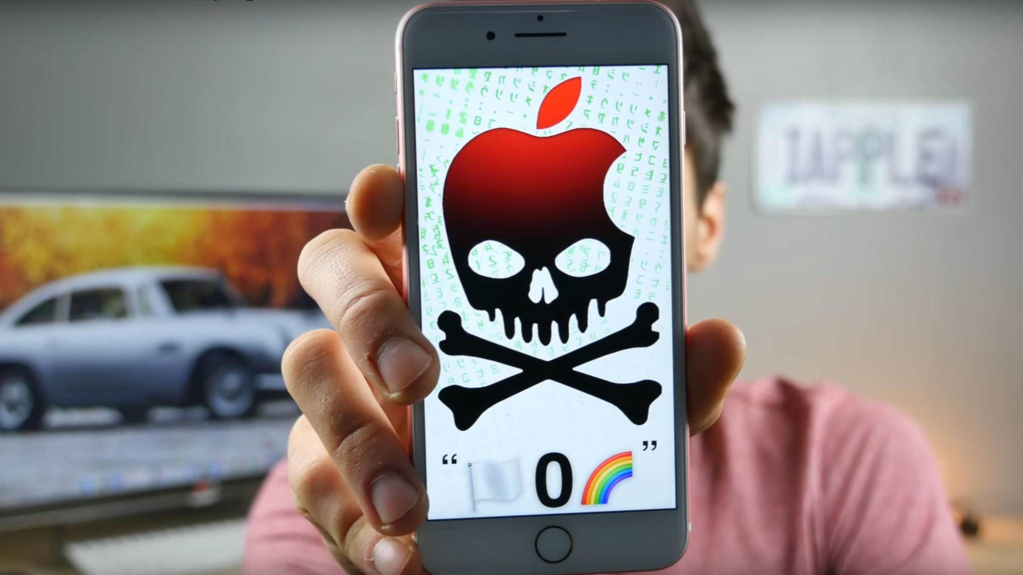 Eine Nachricht mit vier Zeichen bringt zahlreiche iPhones zum Absturz.