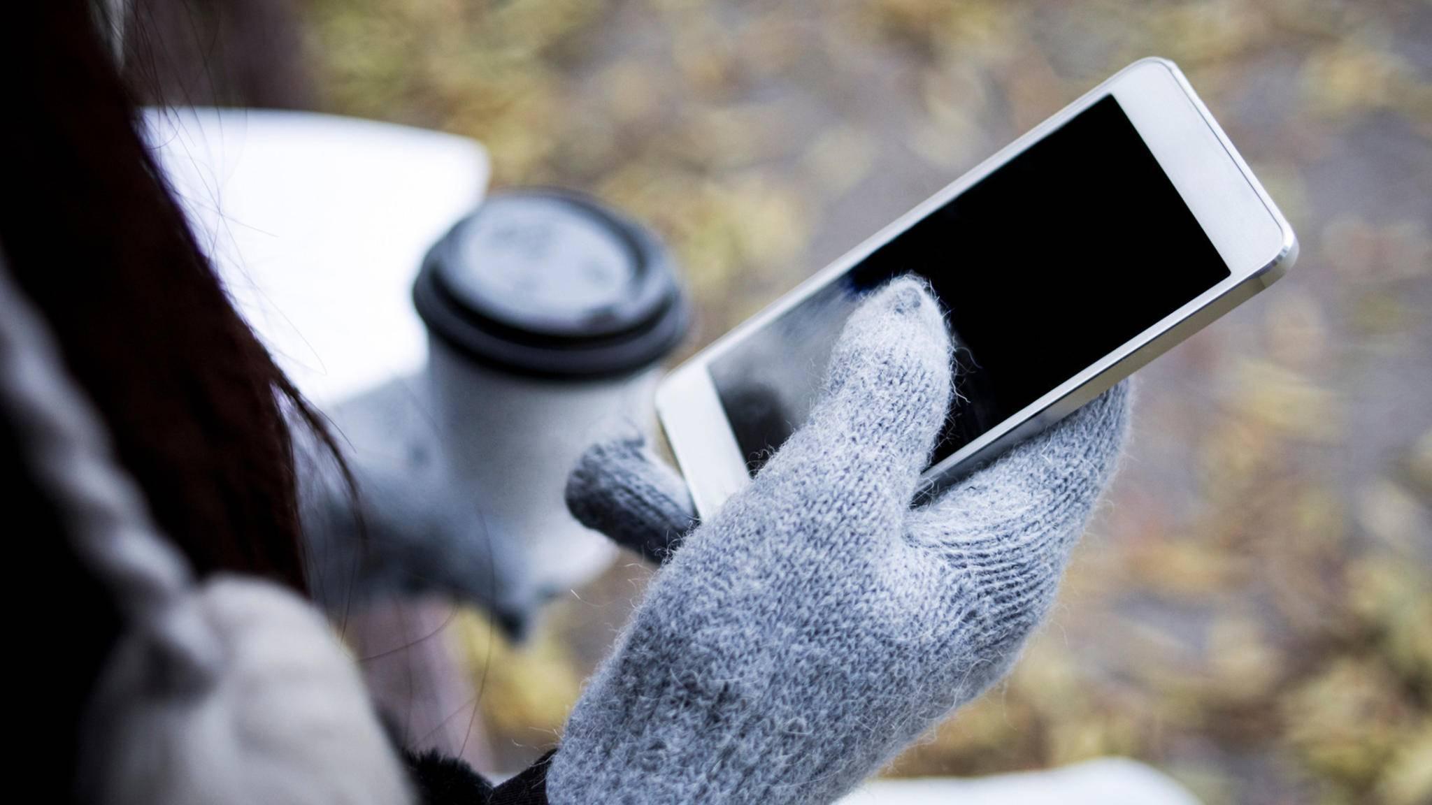 Mit diesem Trick geht das iPhone auch bei Kälte wieder an.
