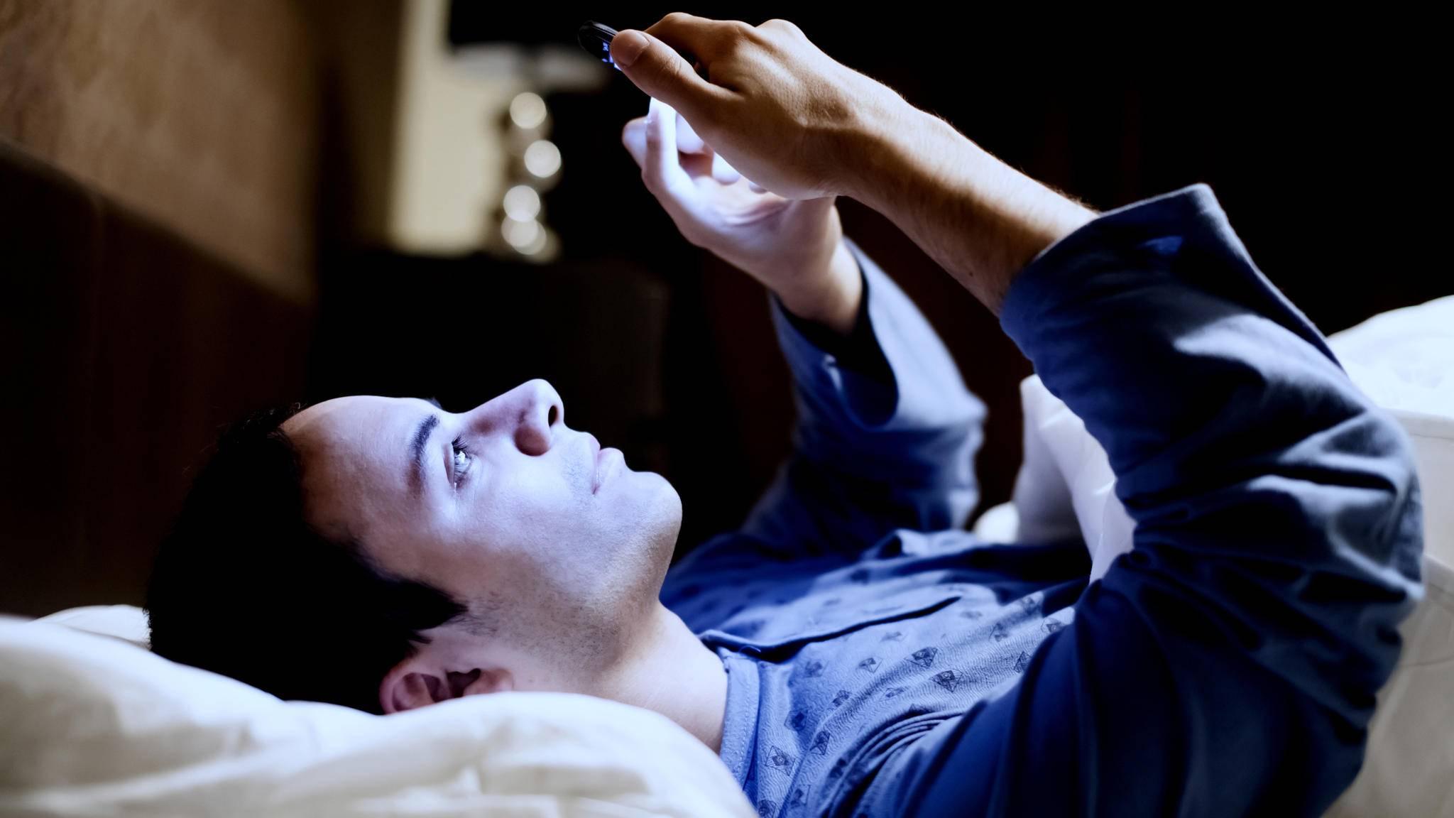 Besonders nachts kann der Nicht-Stören-Modus für ungestörte Ruhe sorgen.