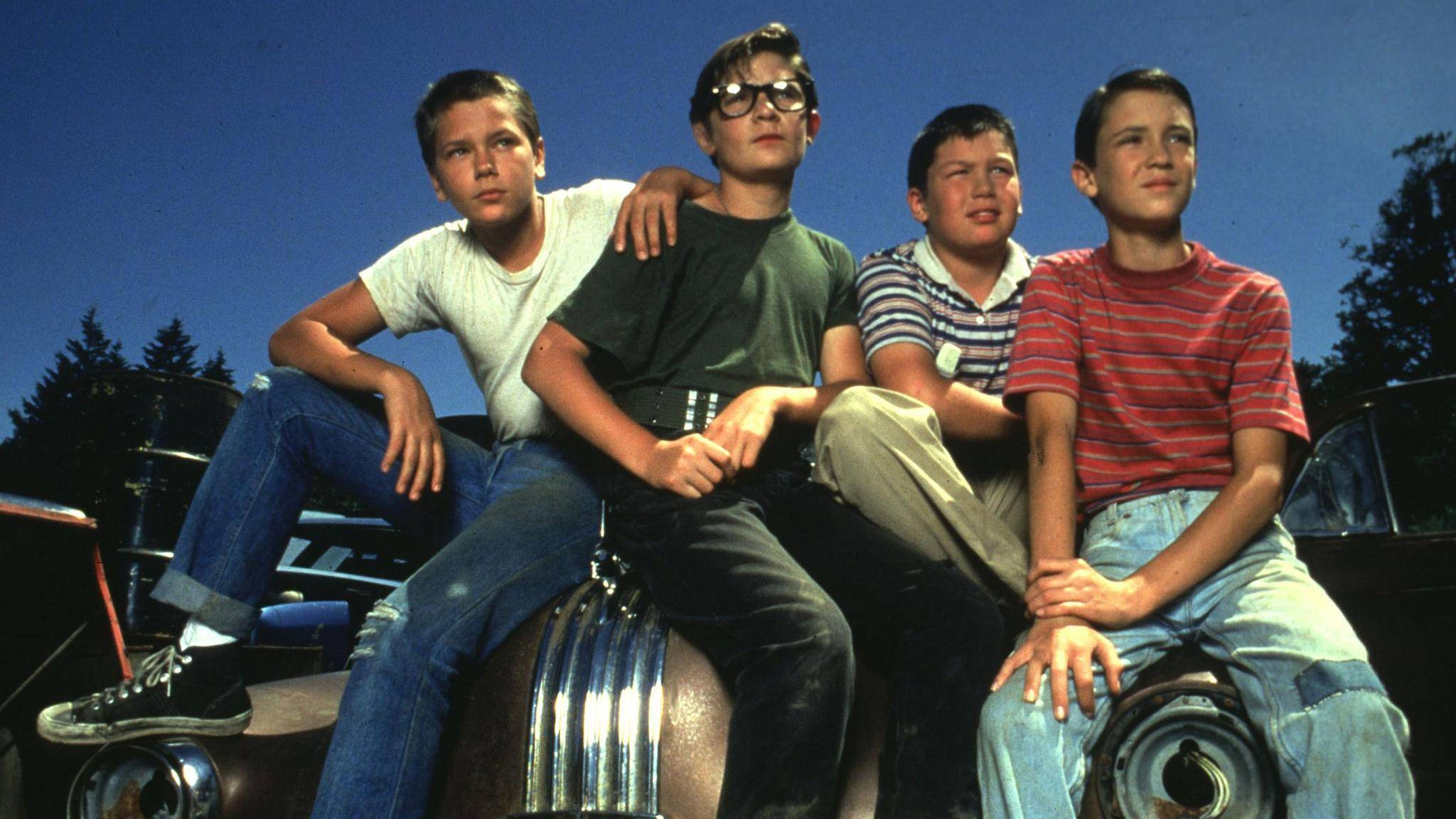 """Der Jugendfilmklassiker """"Stand by Me"""" basiert auf einer Erzählung von Stephen King."""