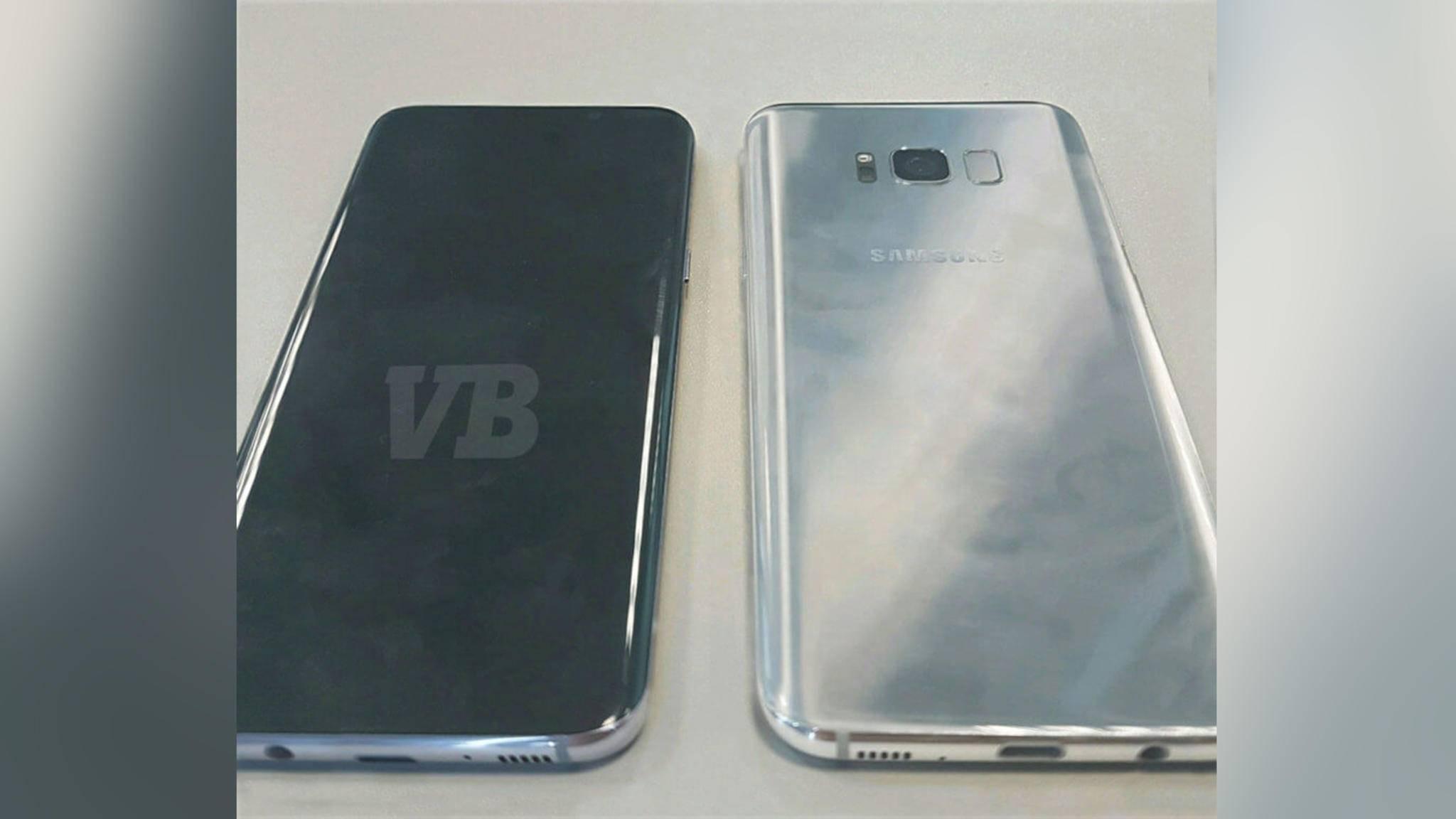 So soll das Galaxy S8 angeblich aussehen.