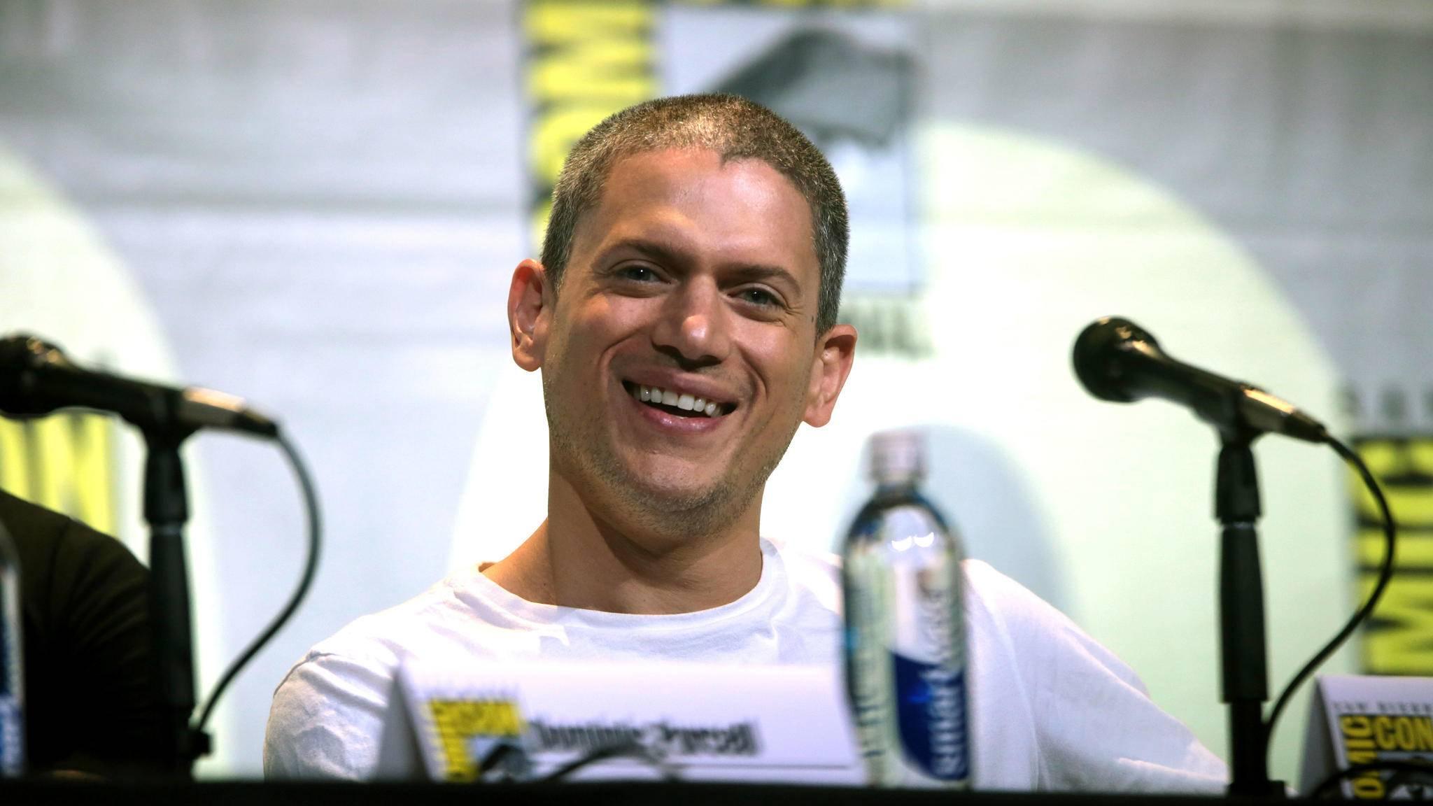 """Wentworth Miller hat gut Lachen: Er ist auch bei der neuen Staffel von """"Prison Break"""" dabei."""