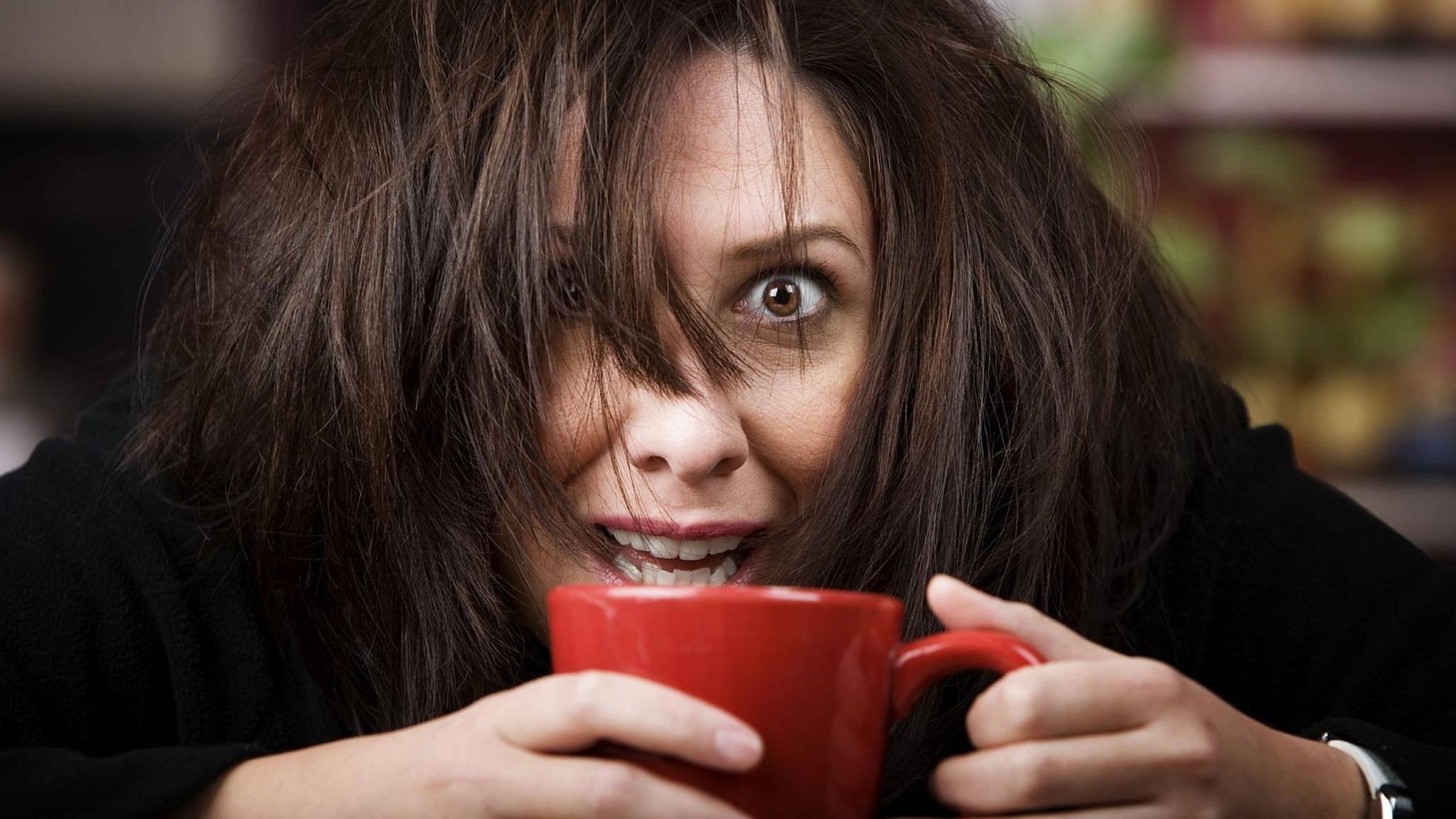 Kaffeesüchtig