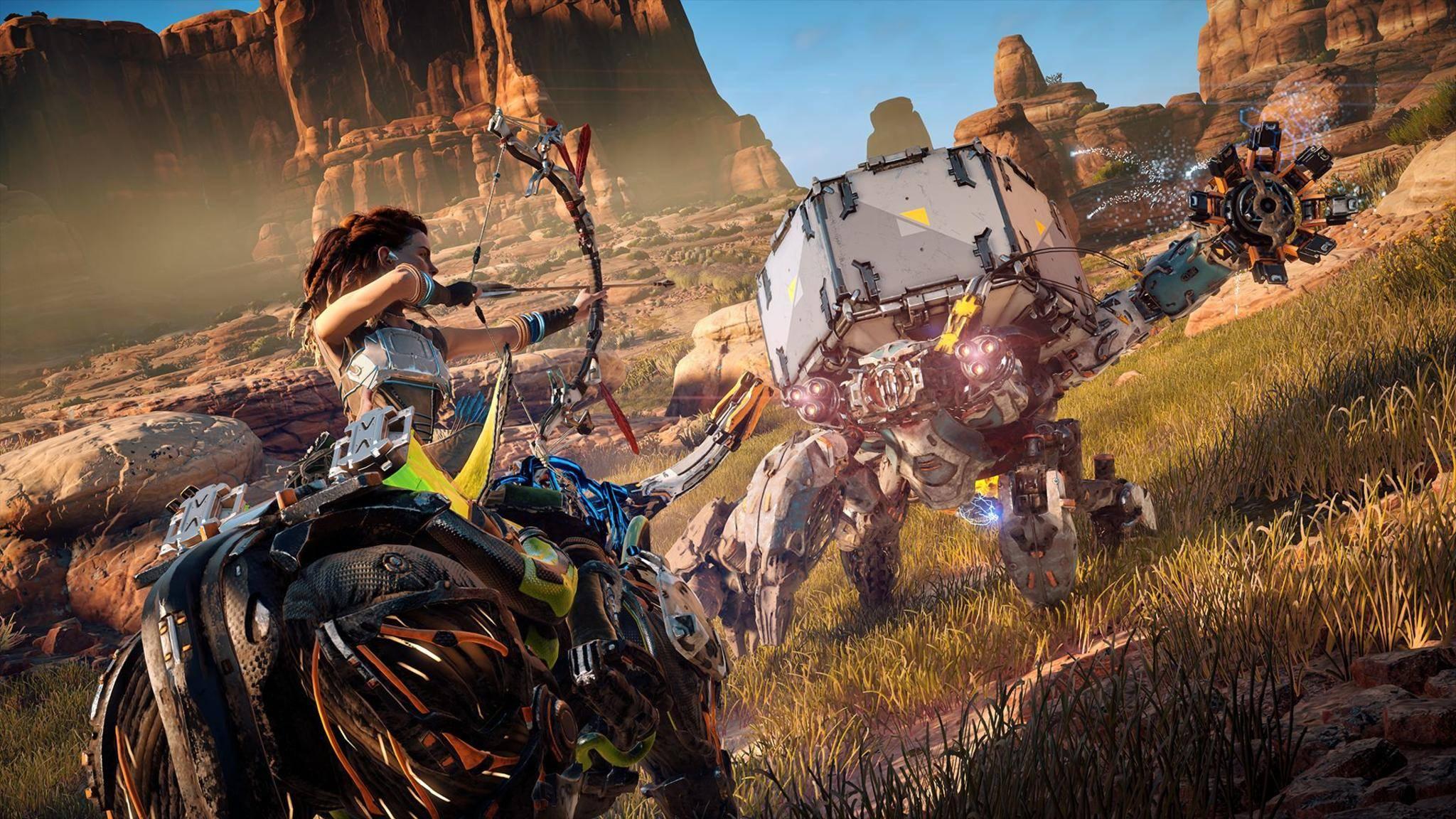 """""""Horizon Zero Dawn"""" ist eines der heißesten Videospiele in 2017."""