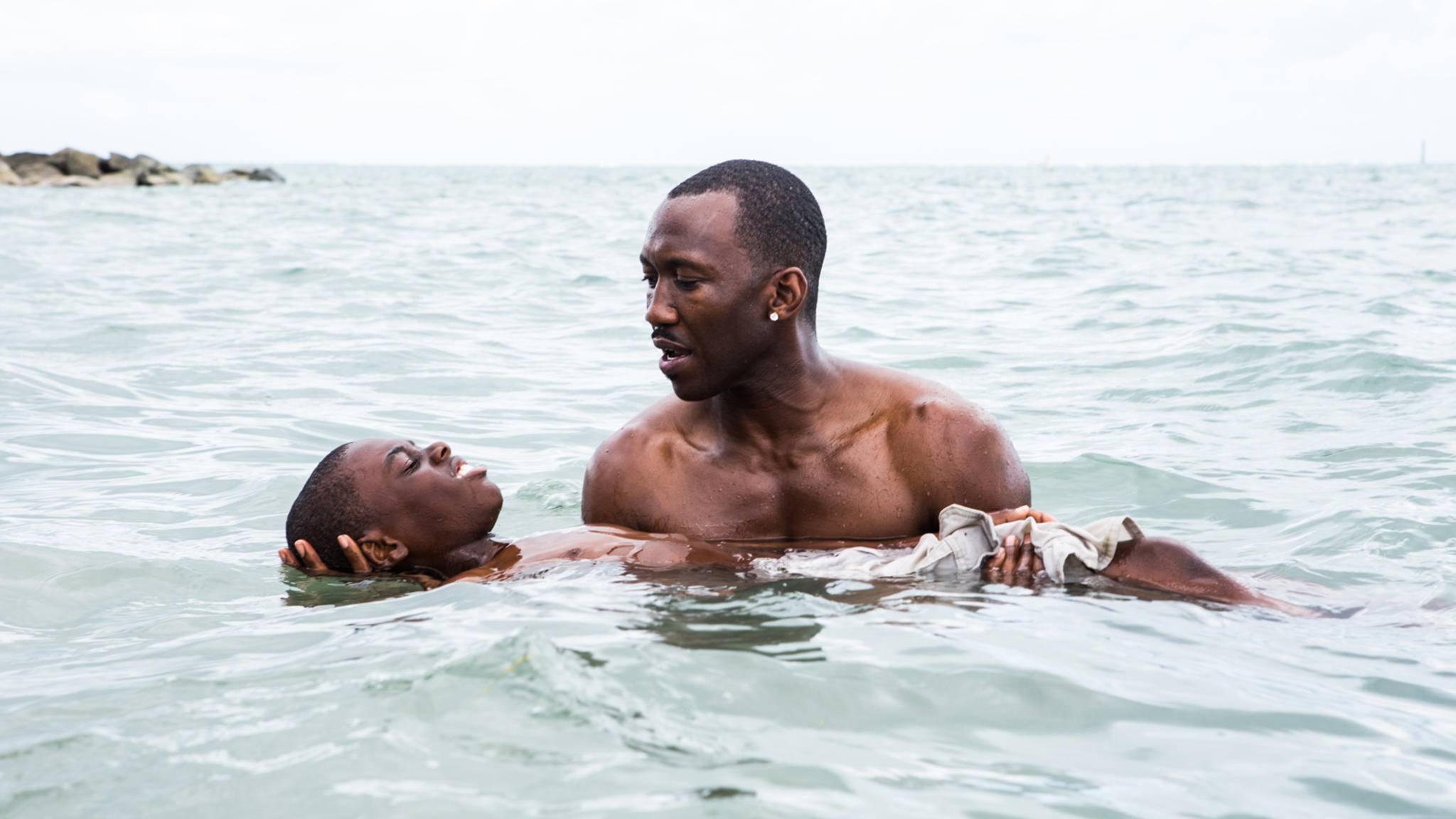 """""""Moonlight"""" erzählt die Geschichte des afroamerikanischen Jungen Chiron, der als Außenseiter in Miami aufwächst."""