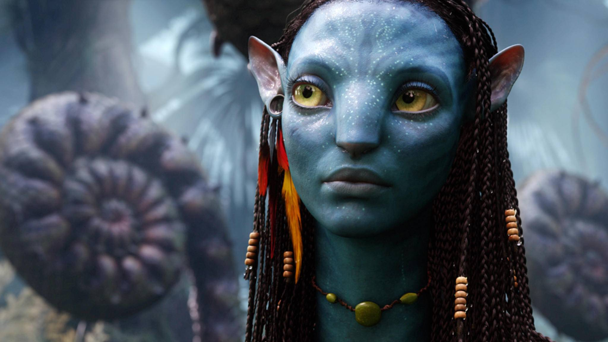 """Zoe Saldanas Szenen als Neytiri für """"Avatar 2"""" und """"Avatar 3"""" sind im Kasten."""