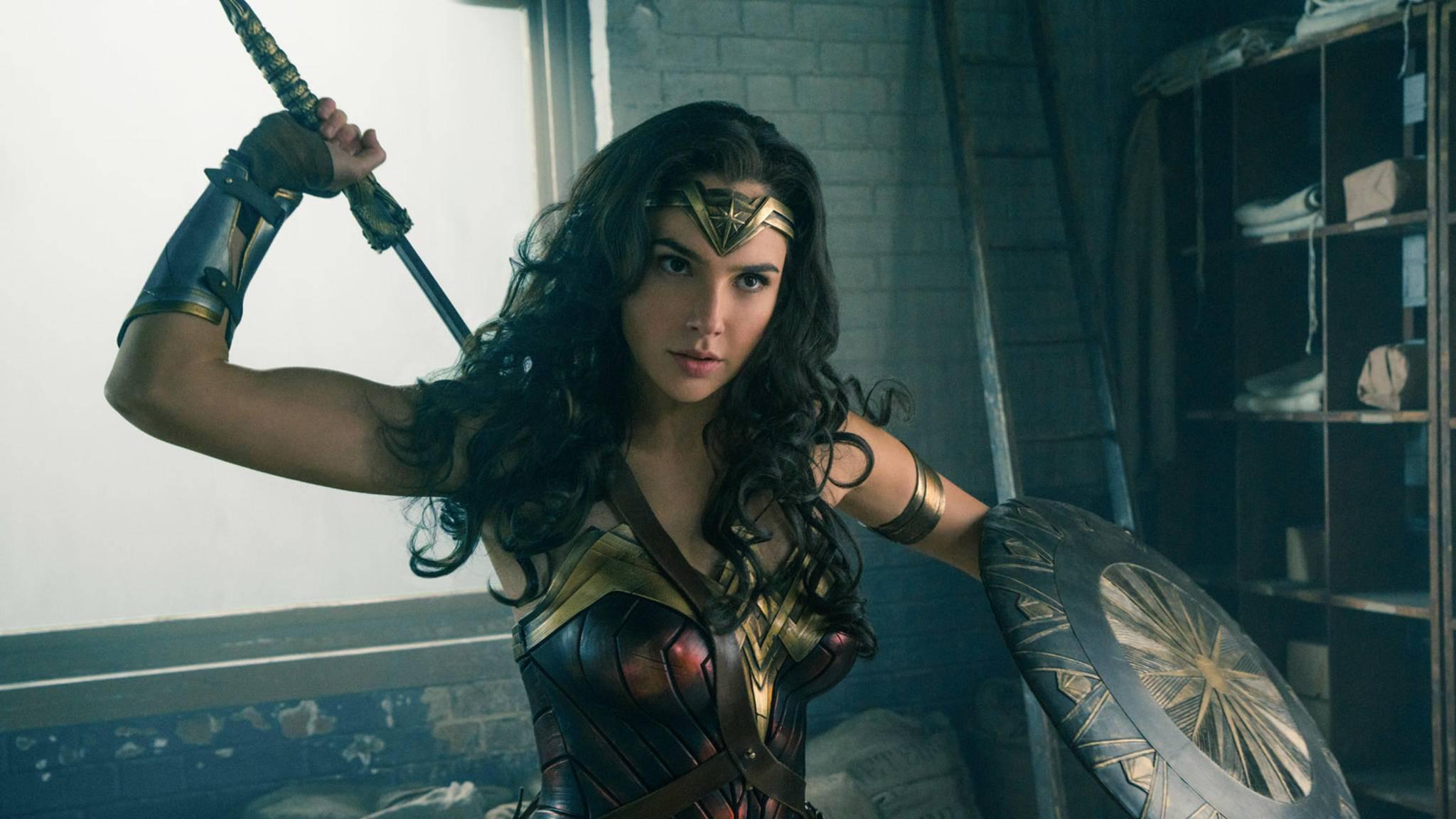"""""""Wonder Woman"""" mauserte sich zum Überraschungshit des Kinojahres 2017."""