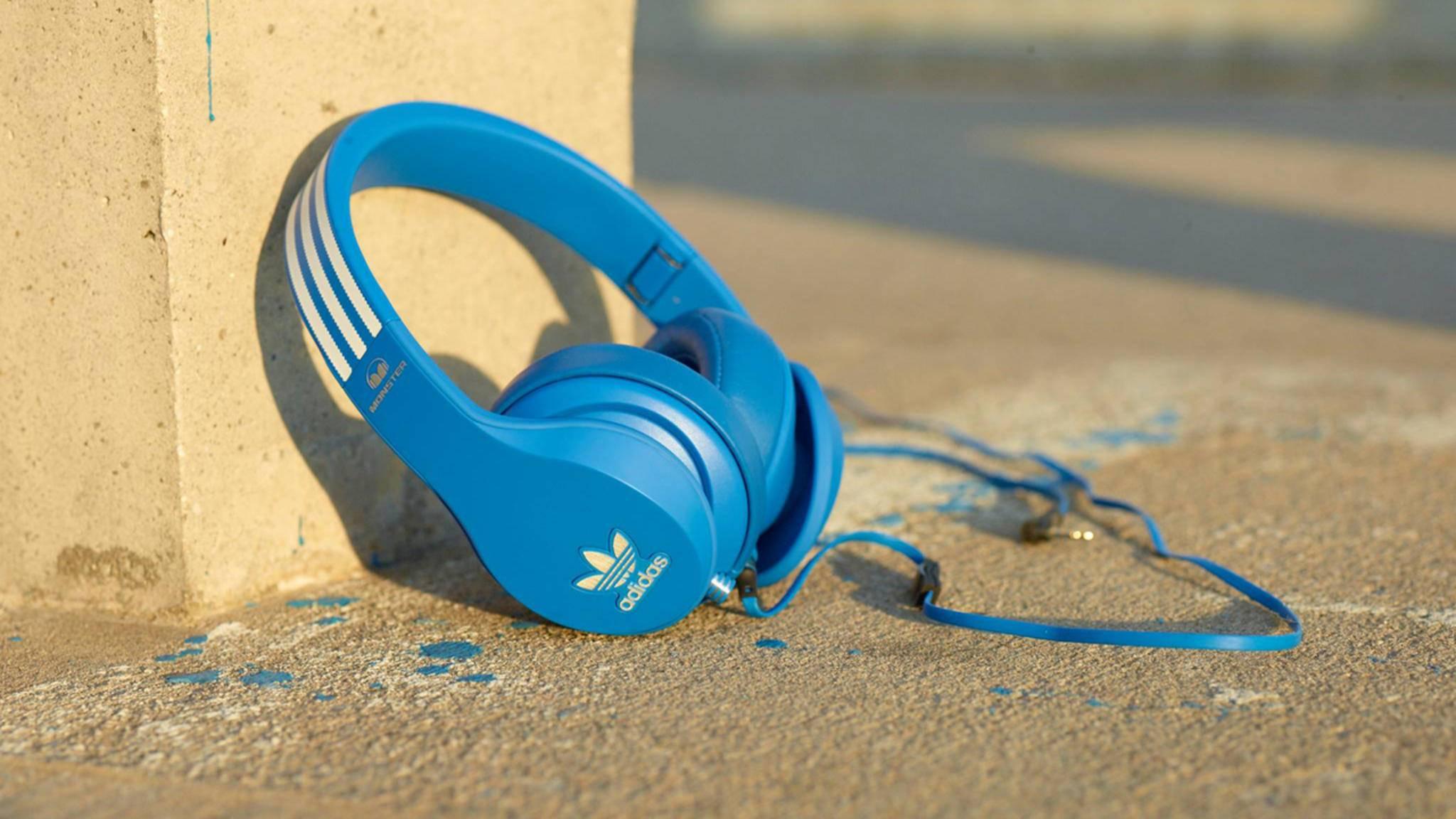 Sportartikel-Hersteller Adidas hat bereits Kopfhörer auf den Markt gebracht (s.o.). So stylish wie die neuen Kreationen eines US-Designers sind die Modelle aber nicht.