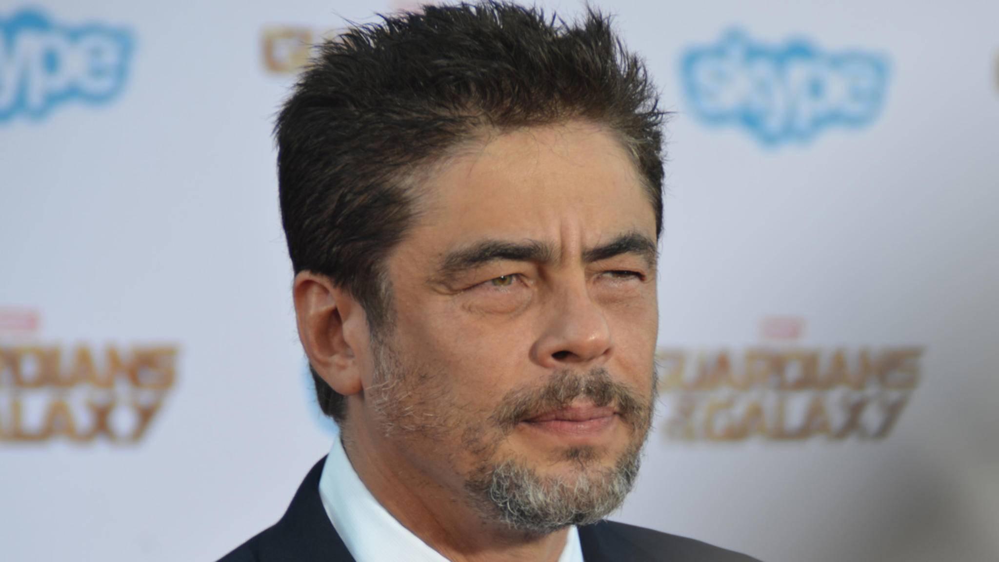 """Benicio Del Toro wird in """"Star Wars: Die letzten Jedi"""" offenbar einen zwielichtigen Kriminellen verkörpern."""