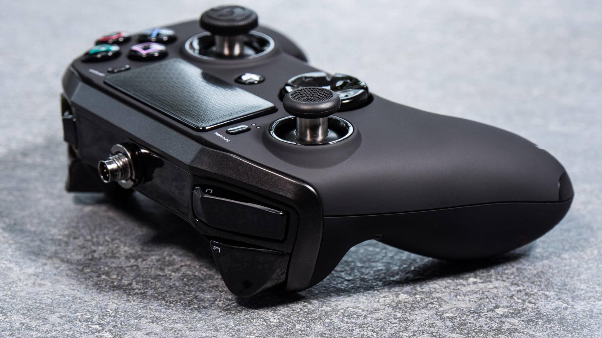 Der Nacon Revolution Pro: Gute Alternative zum DualShock-Controller für PS4?