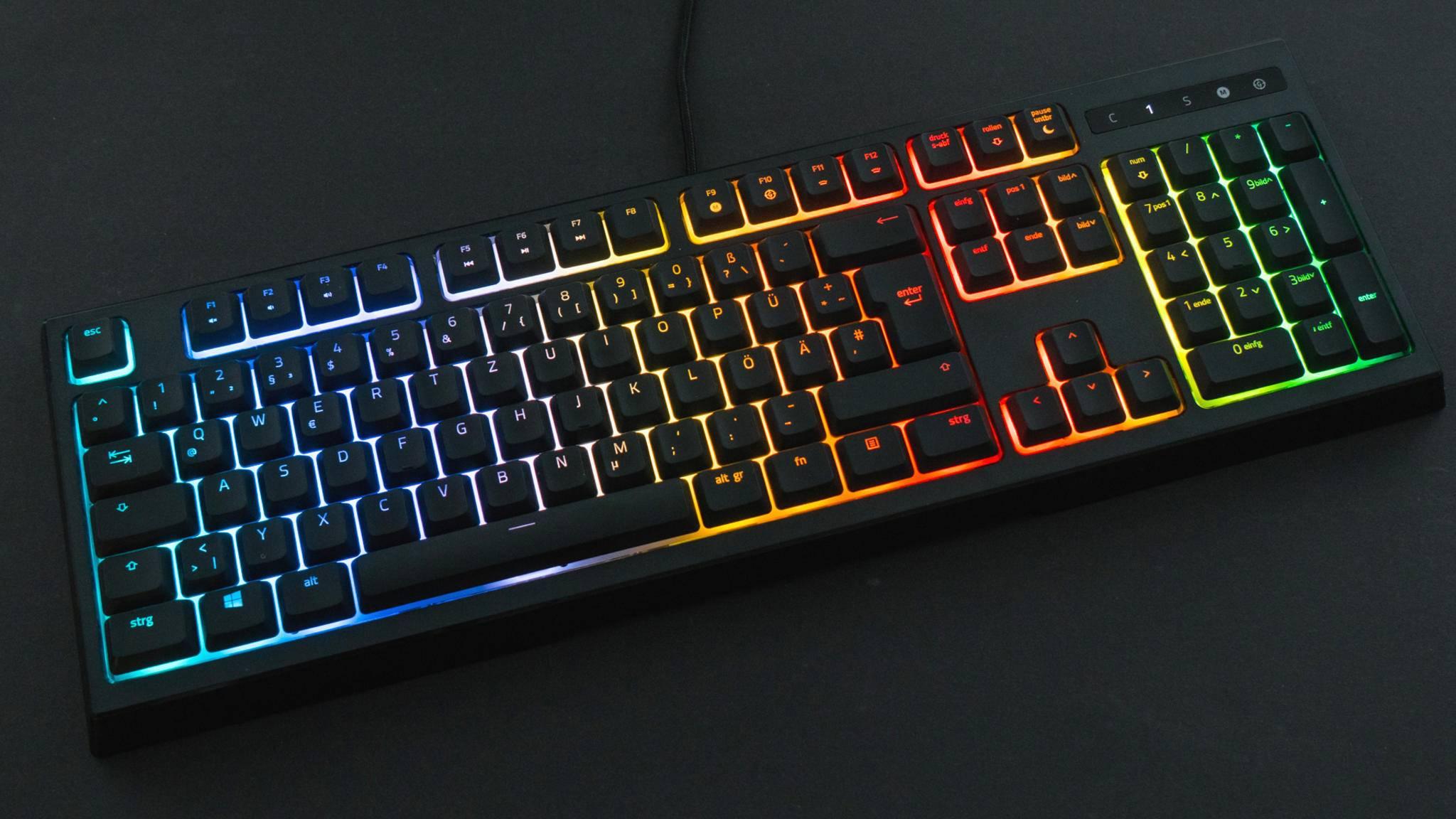 Braucht eine gute Gaming-Tastatur eine RGB-Beleuchtung wie die Razer Ornata Chroma?