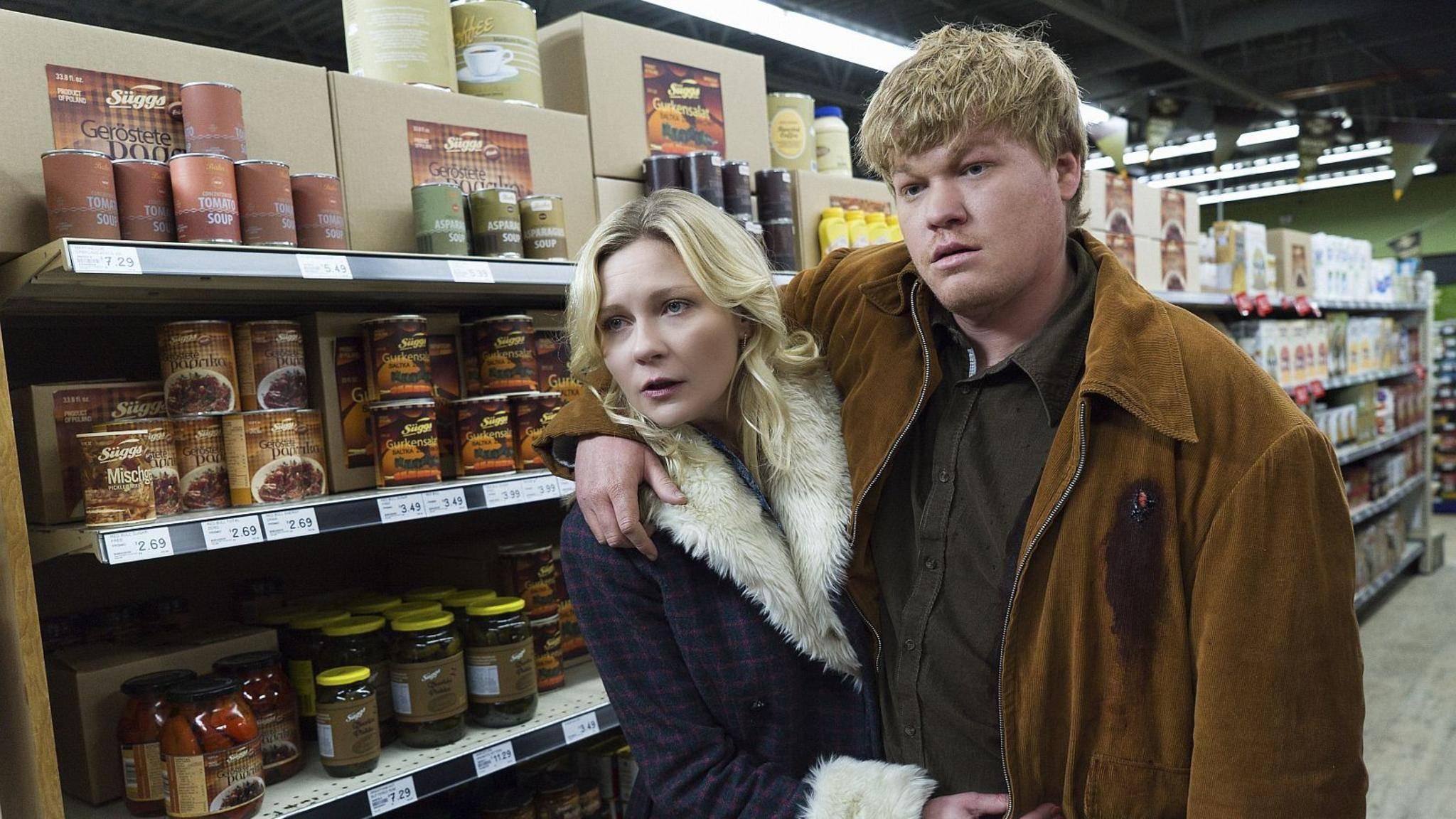 """In der zweiten Staffel von """"Fargo"""" spielte Kirsten Dunst (l.) eine Nebenrolle."""