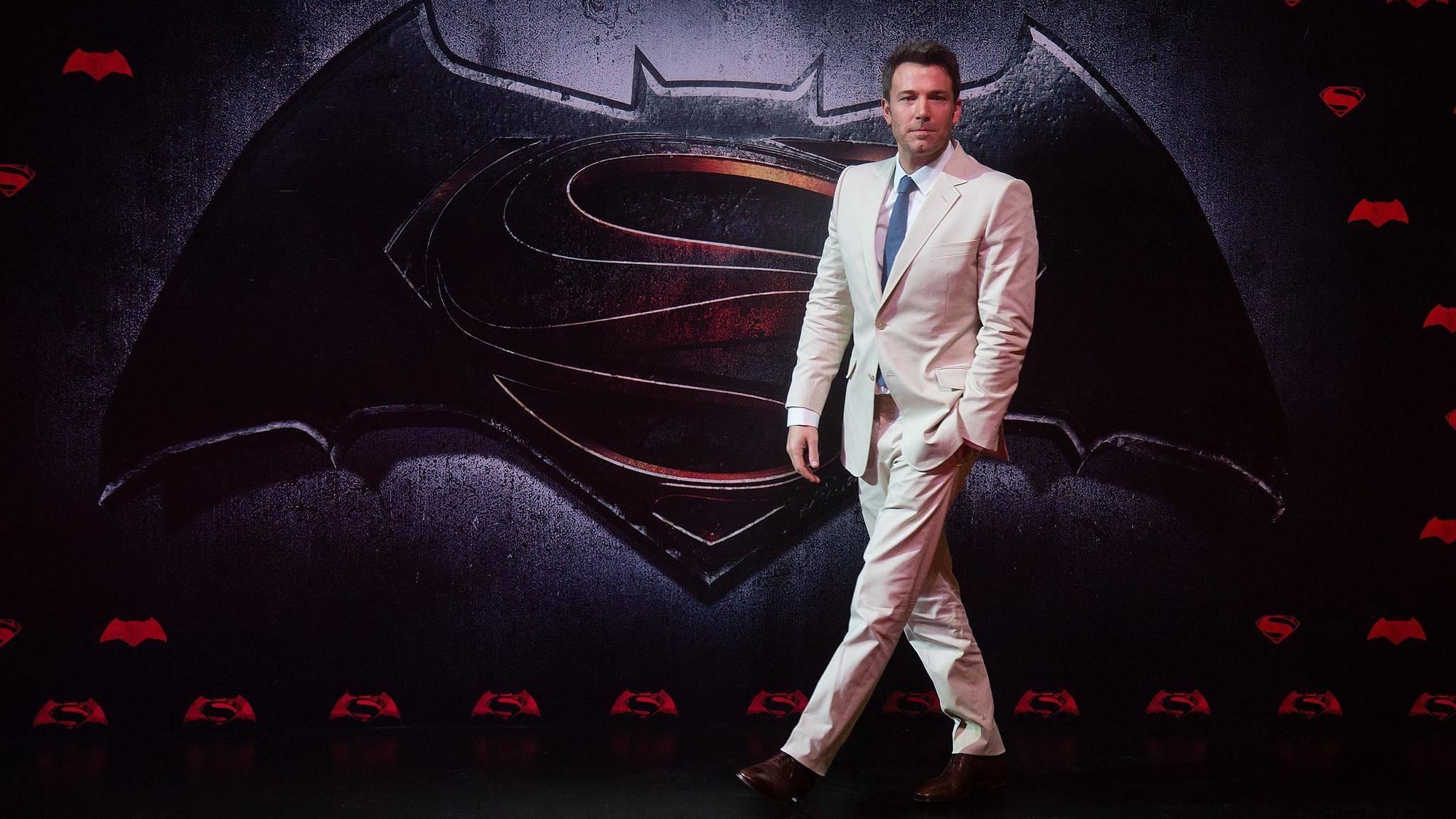 """""""Batman v Superman"""" mit Ben Affleck in der Rolle der Fledermaus enttäuschte Kritiker und Publikum."""