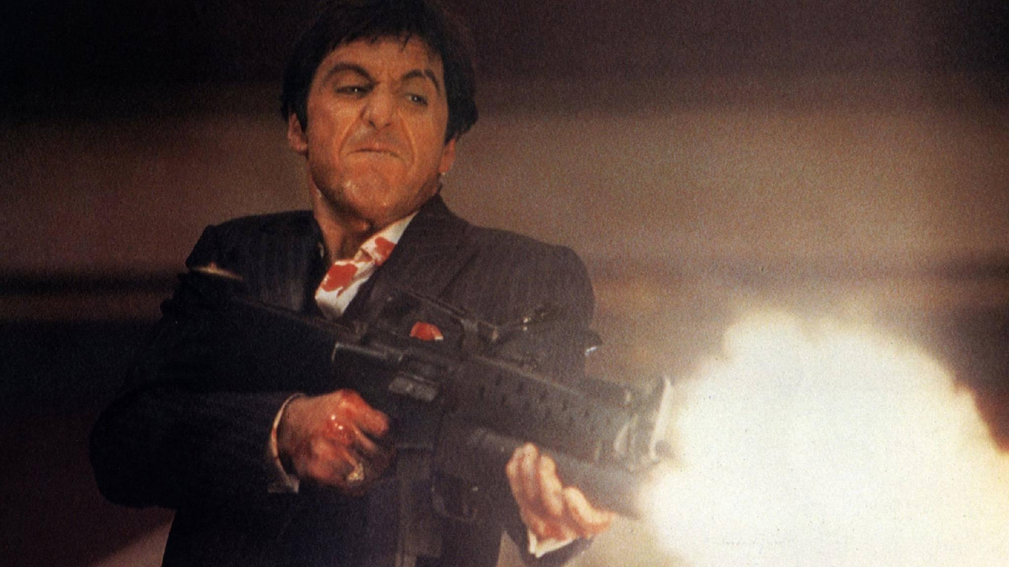 """Der König aller Drogenbosse: Al Pacino lieferte in """"Scarface"""" eine spektakuläre Performance ab."""