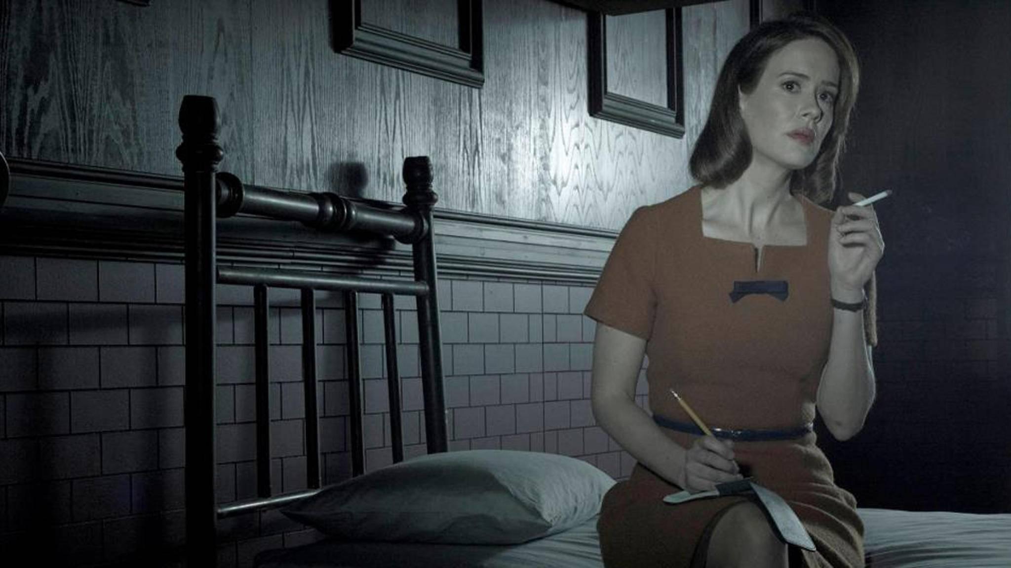 """Sarah Paulson wird auch in der siebten """"American Horror Story""""-Staffel mit dabei sein."""