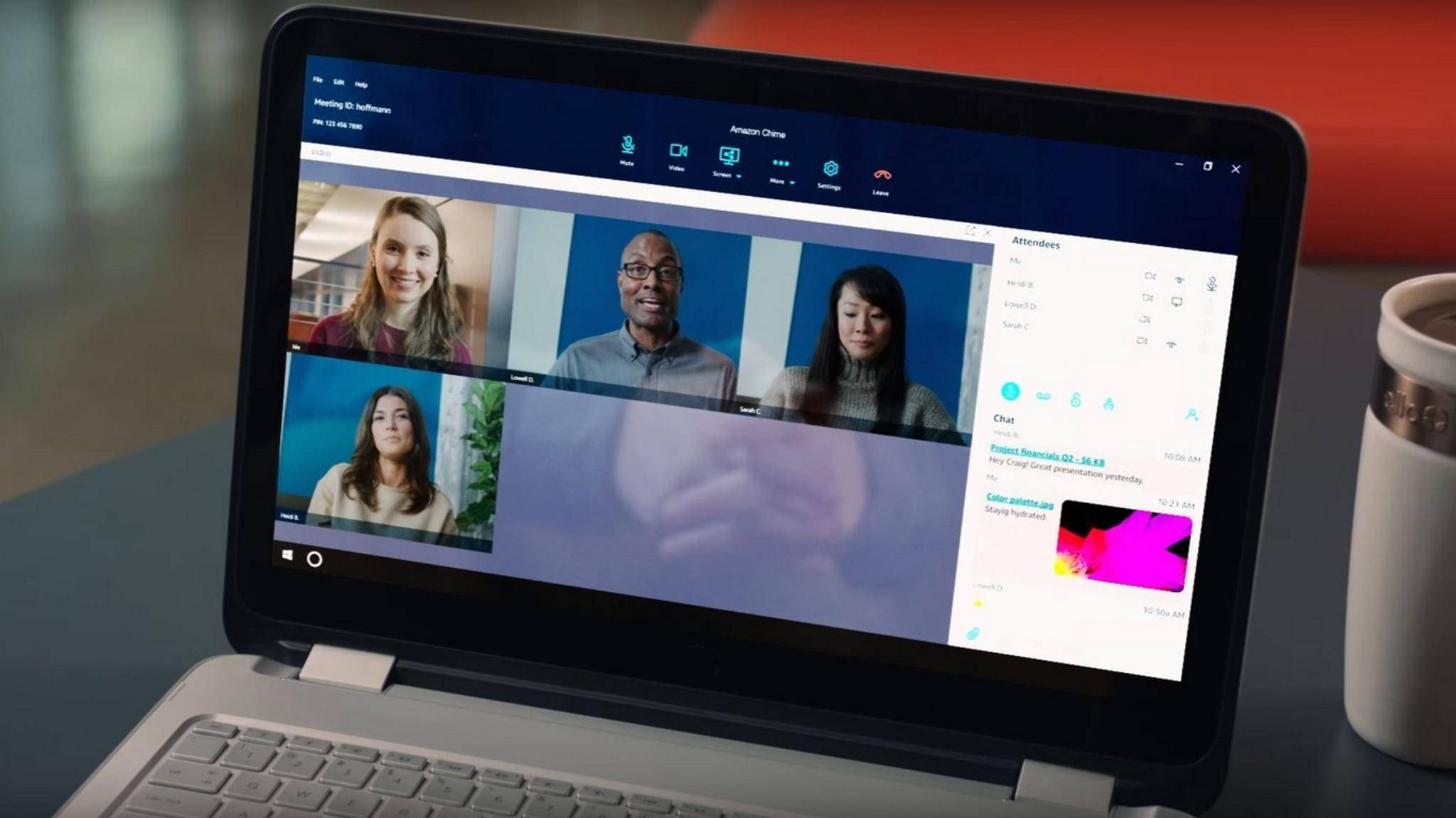 Amazon Chime will Videokonferenzen so einfach wie nie machen.