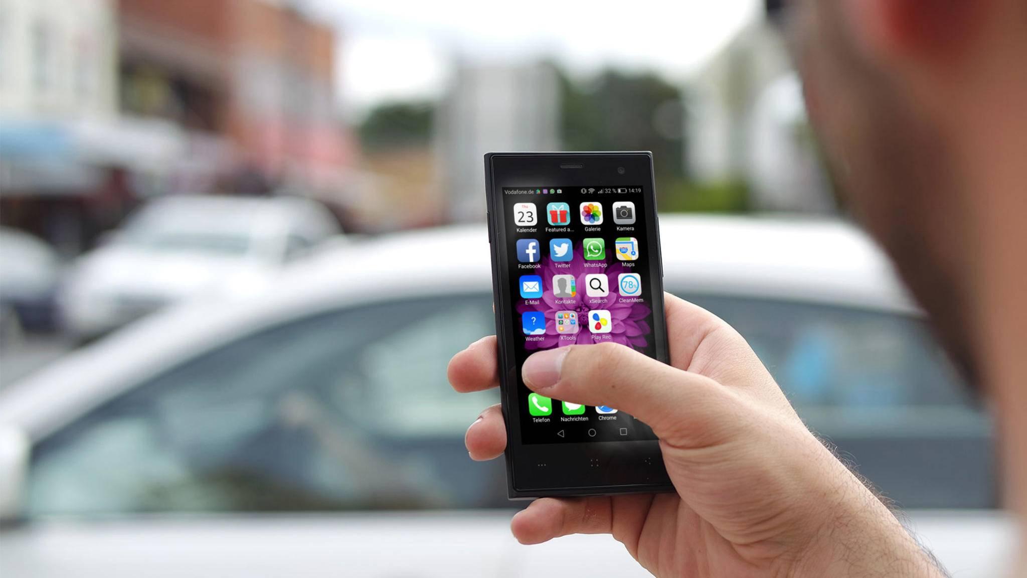 Drei Apps benötigst Du, um ein Android-Smartphone in ein iPhone umzuwandeln.