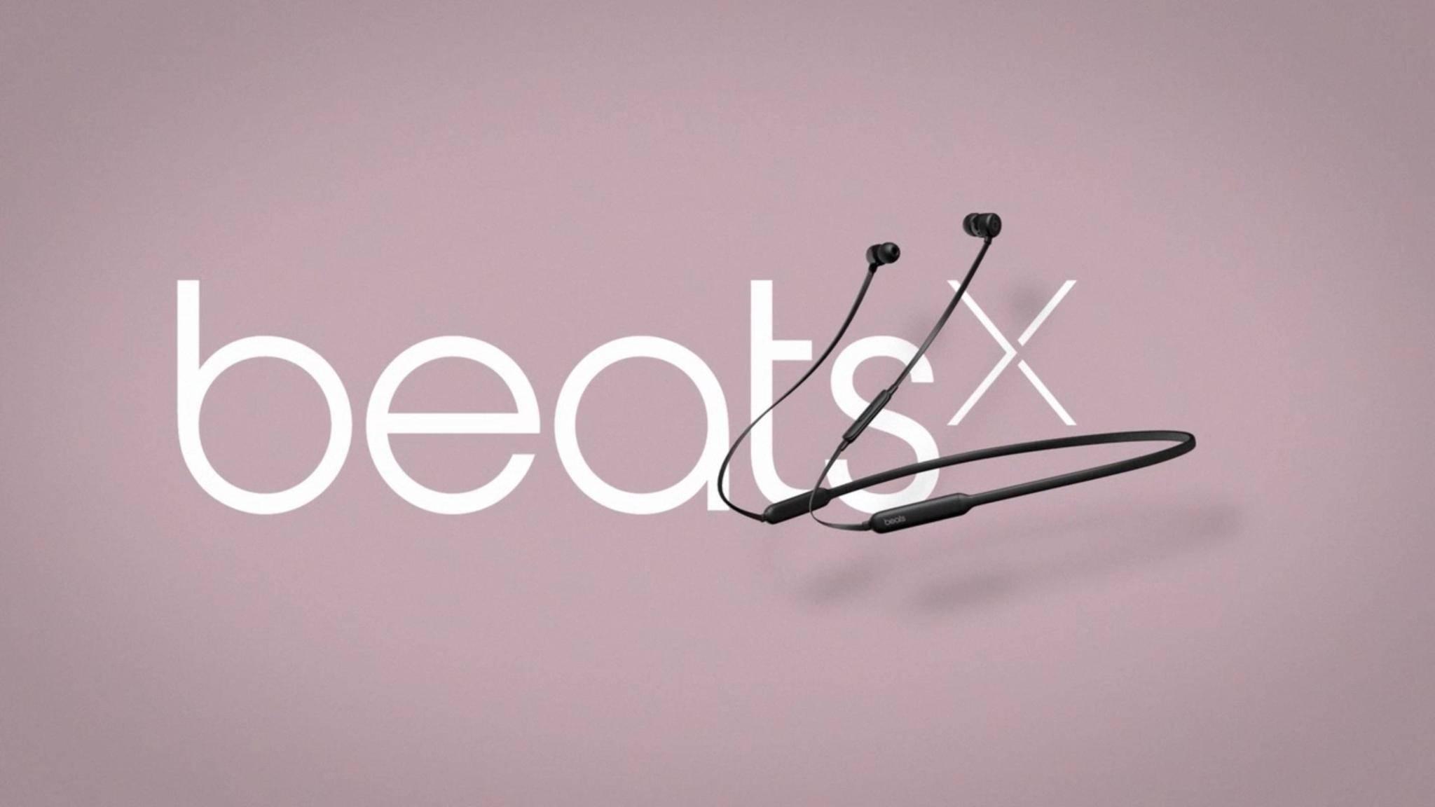 Die BeatsX-Kopfhörer finden endlich ihren Weg in die Läden.