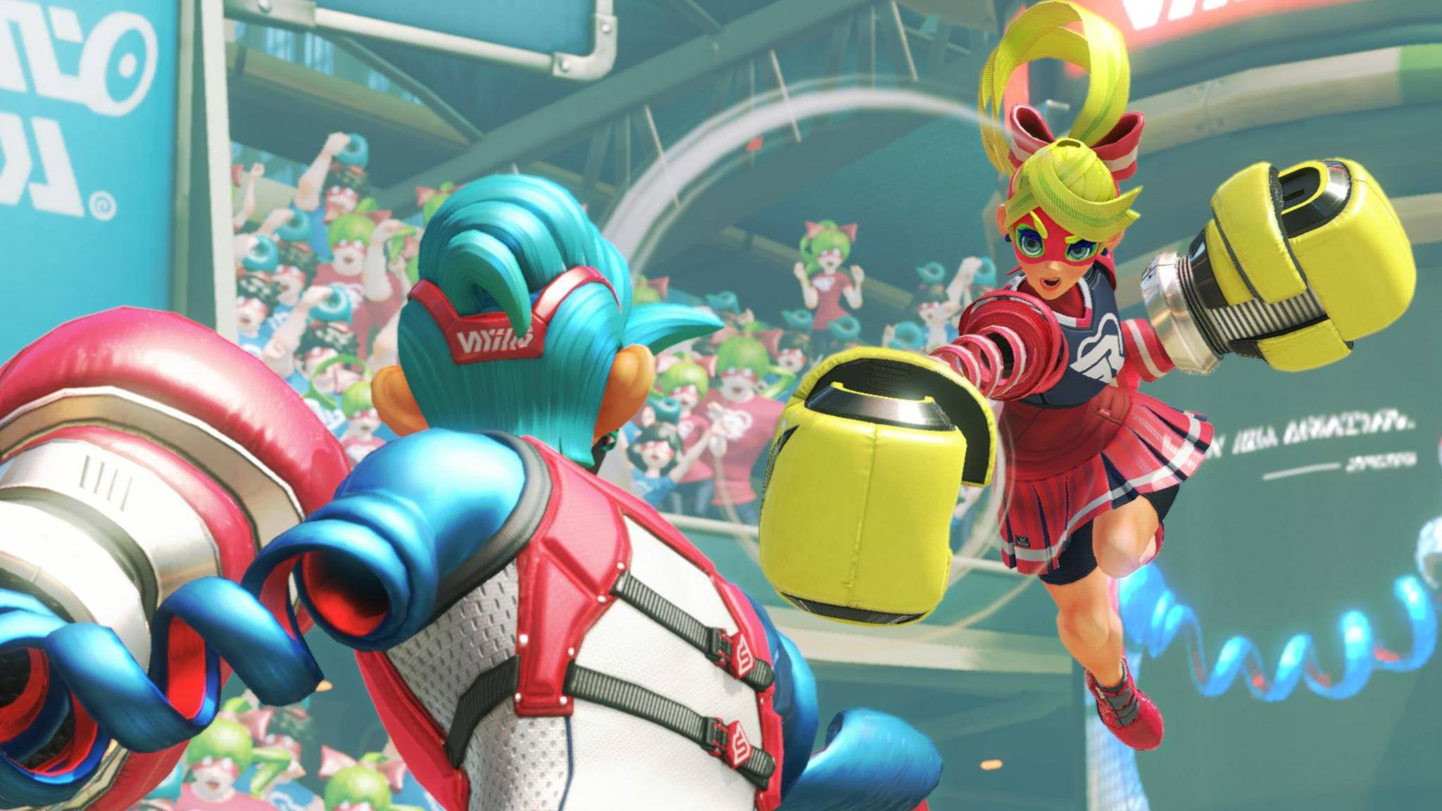 """Arms"" verspricht endlosen Multiplayer-Spaß."