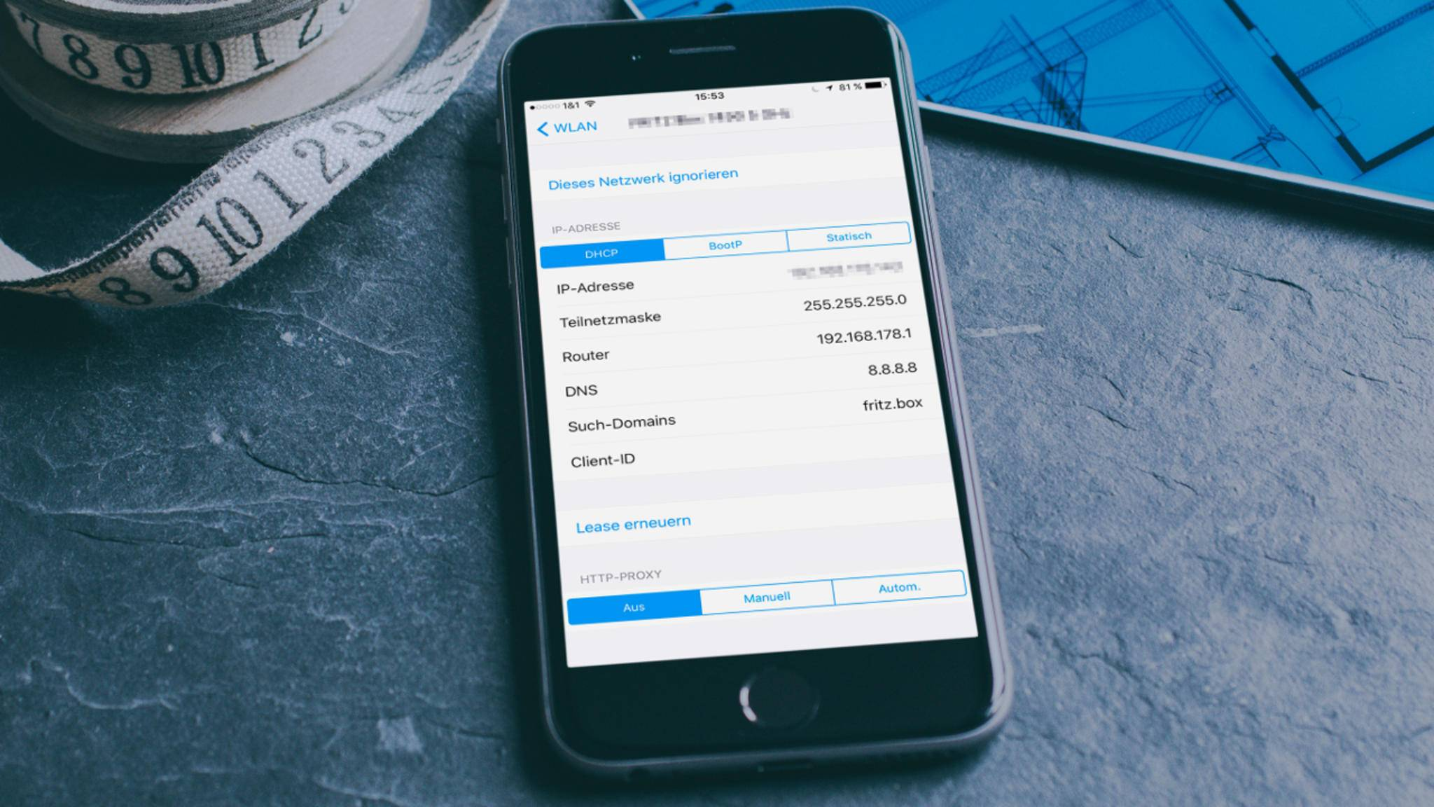 Wir erklären, wie Du einen Proxy auf dem iPhone einrichtest.